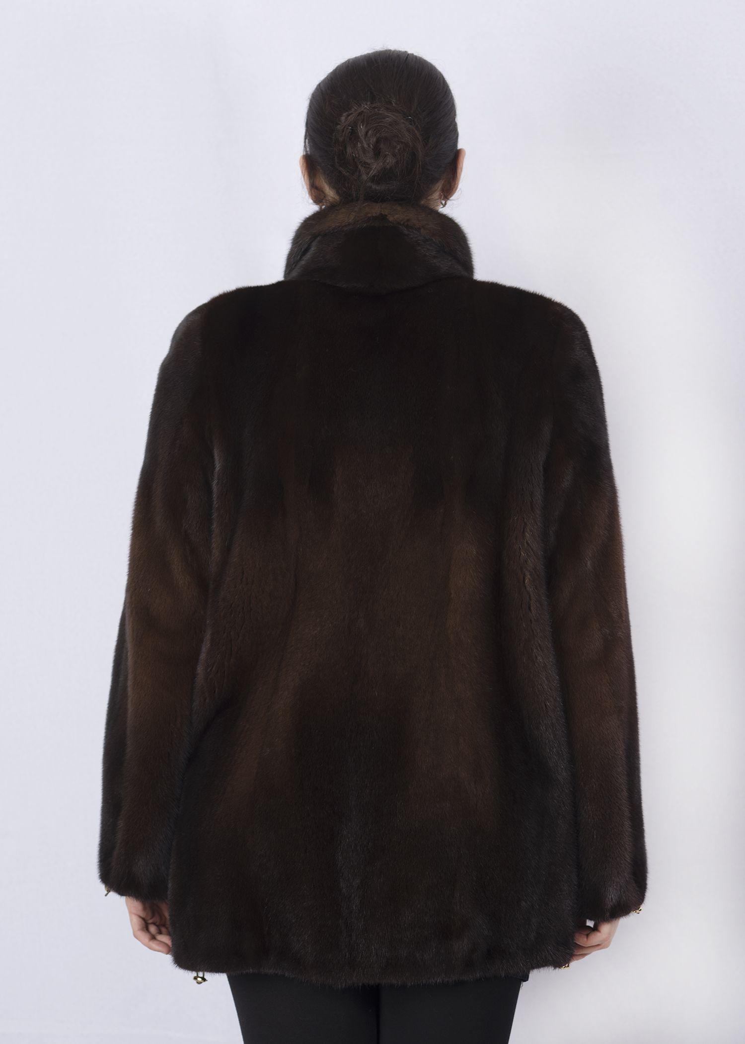 Шуба женская норковая 2834 фото №1