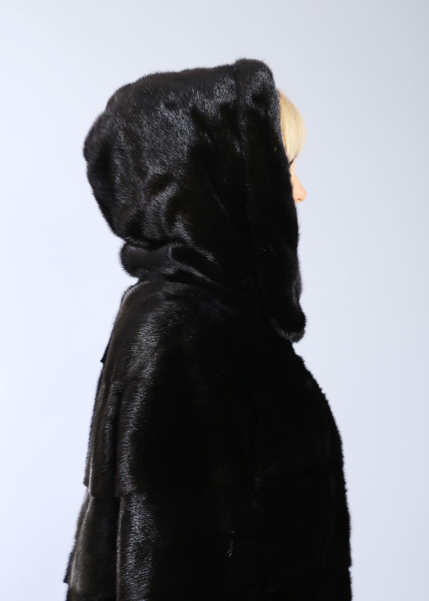 Шуба женская норковая 8167 фото №1