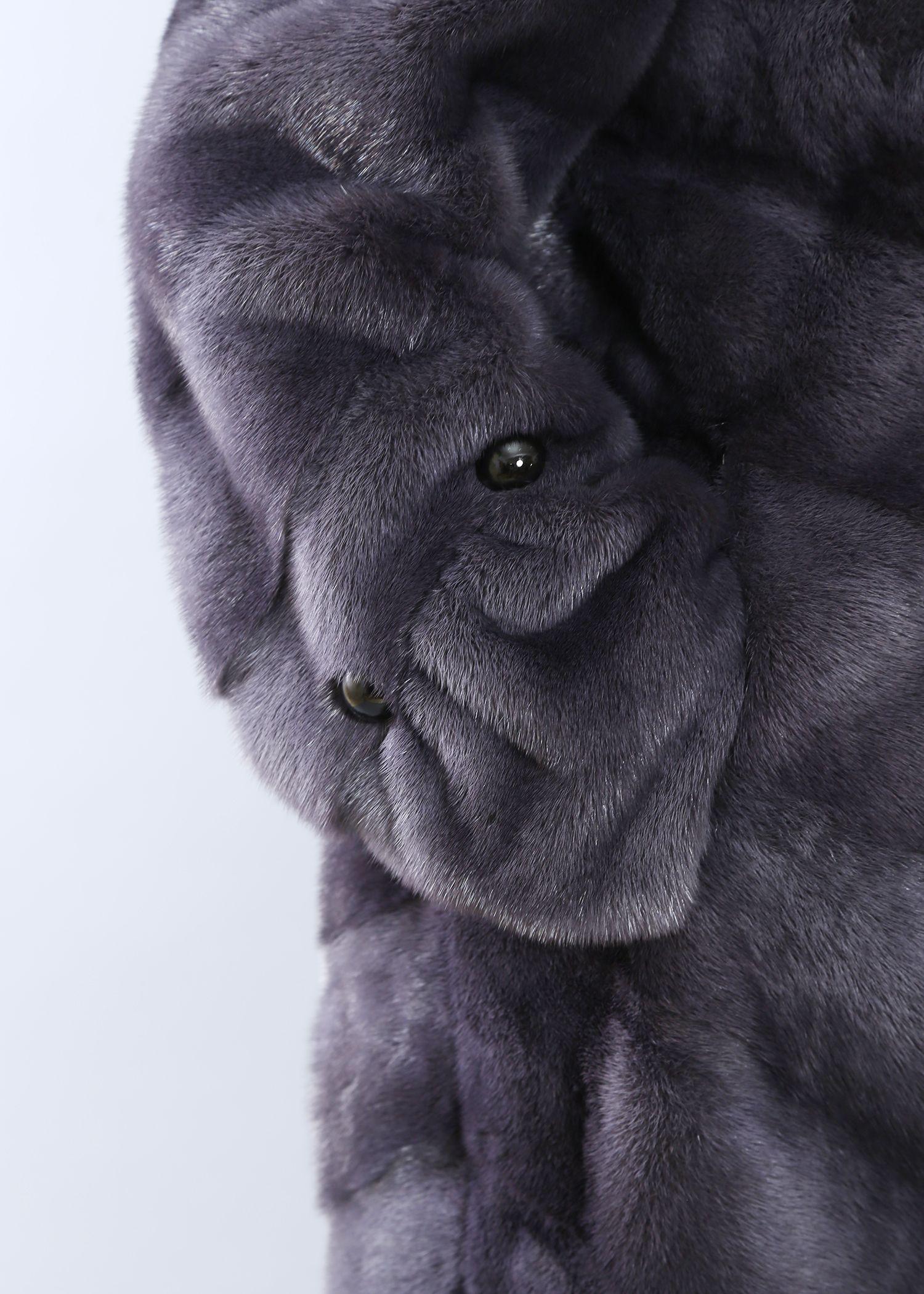 Шуба женская норковая 20639 фото №1