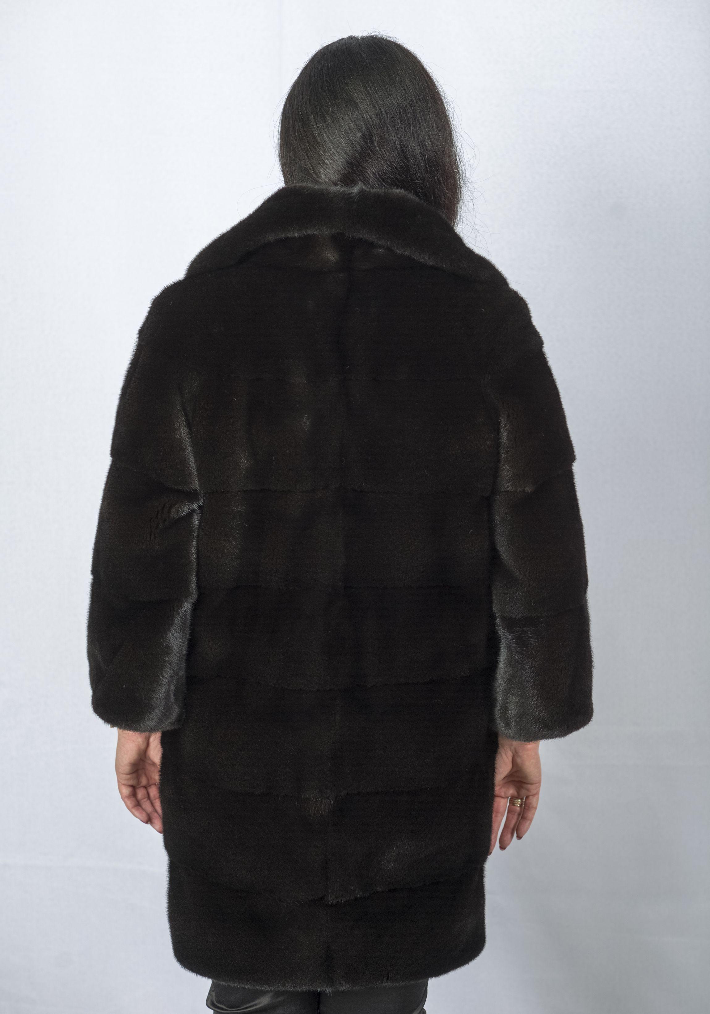 Шуба женская норковая 2747 фото №1