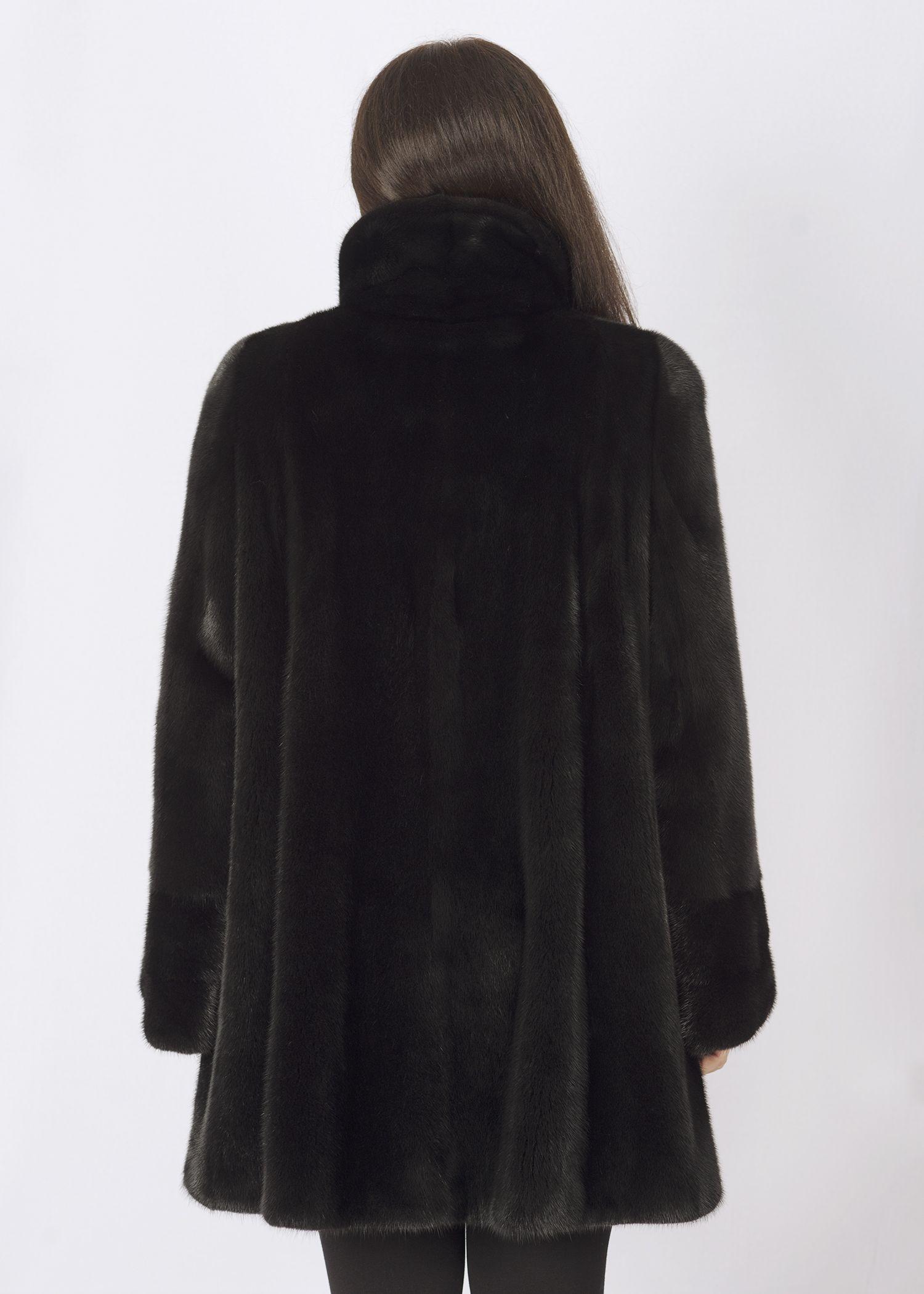 Шуба женская норковая 22388 фото №1
