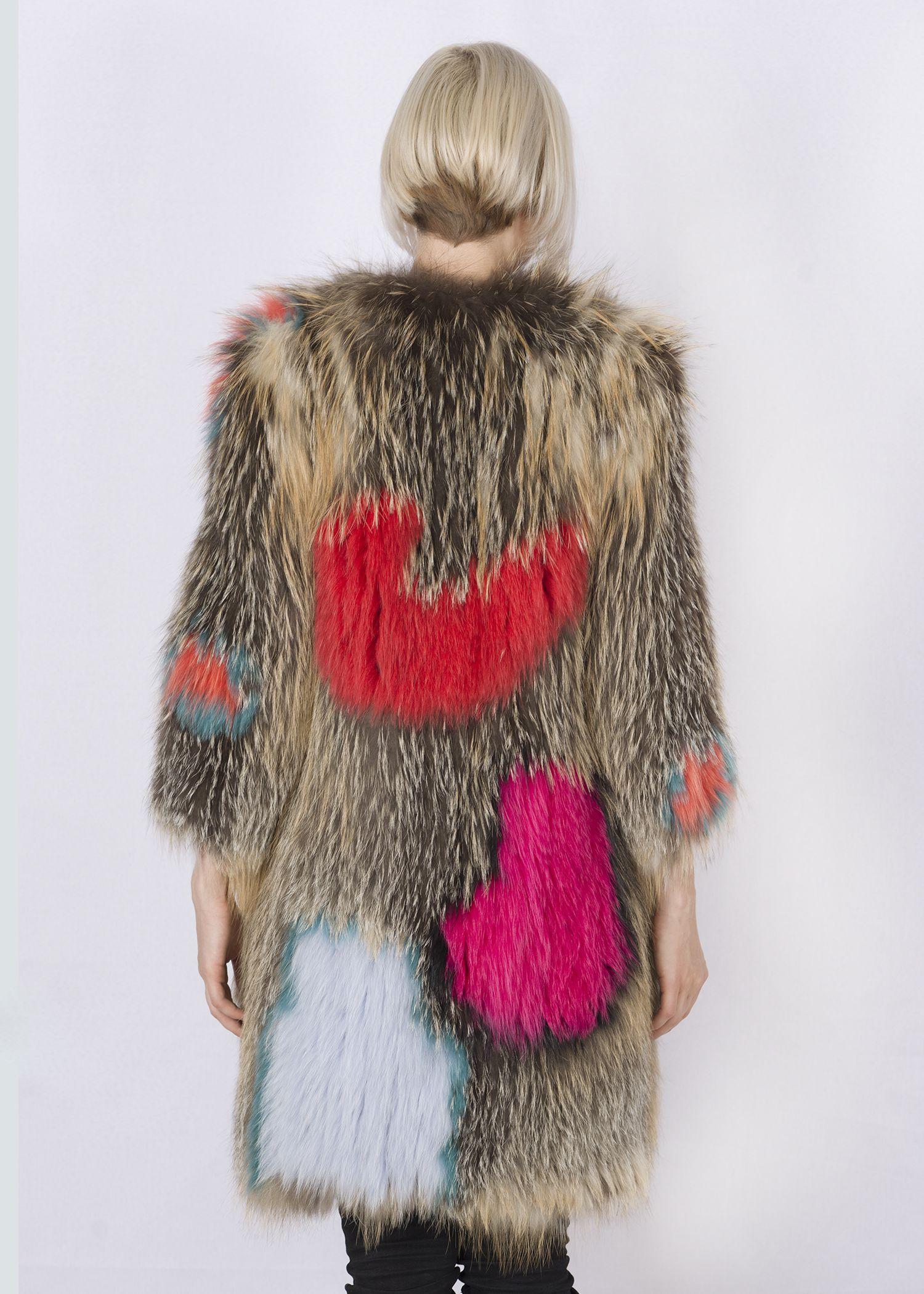 Кофта женская из меха лисы FOX-004В фото №1