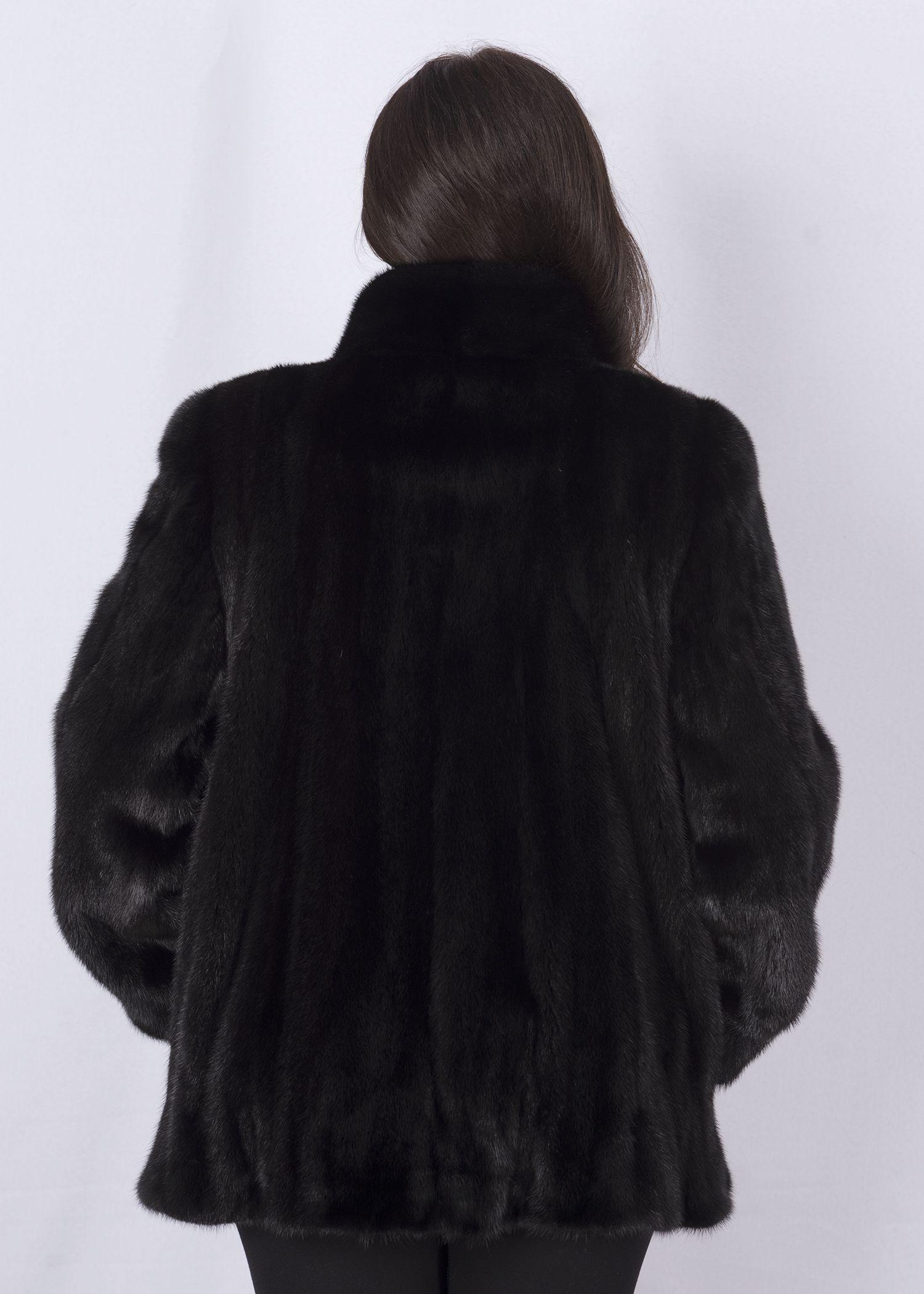 Шуба женская норковая 2928E-2 фото №1