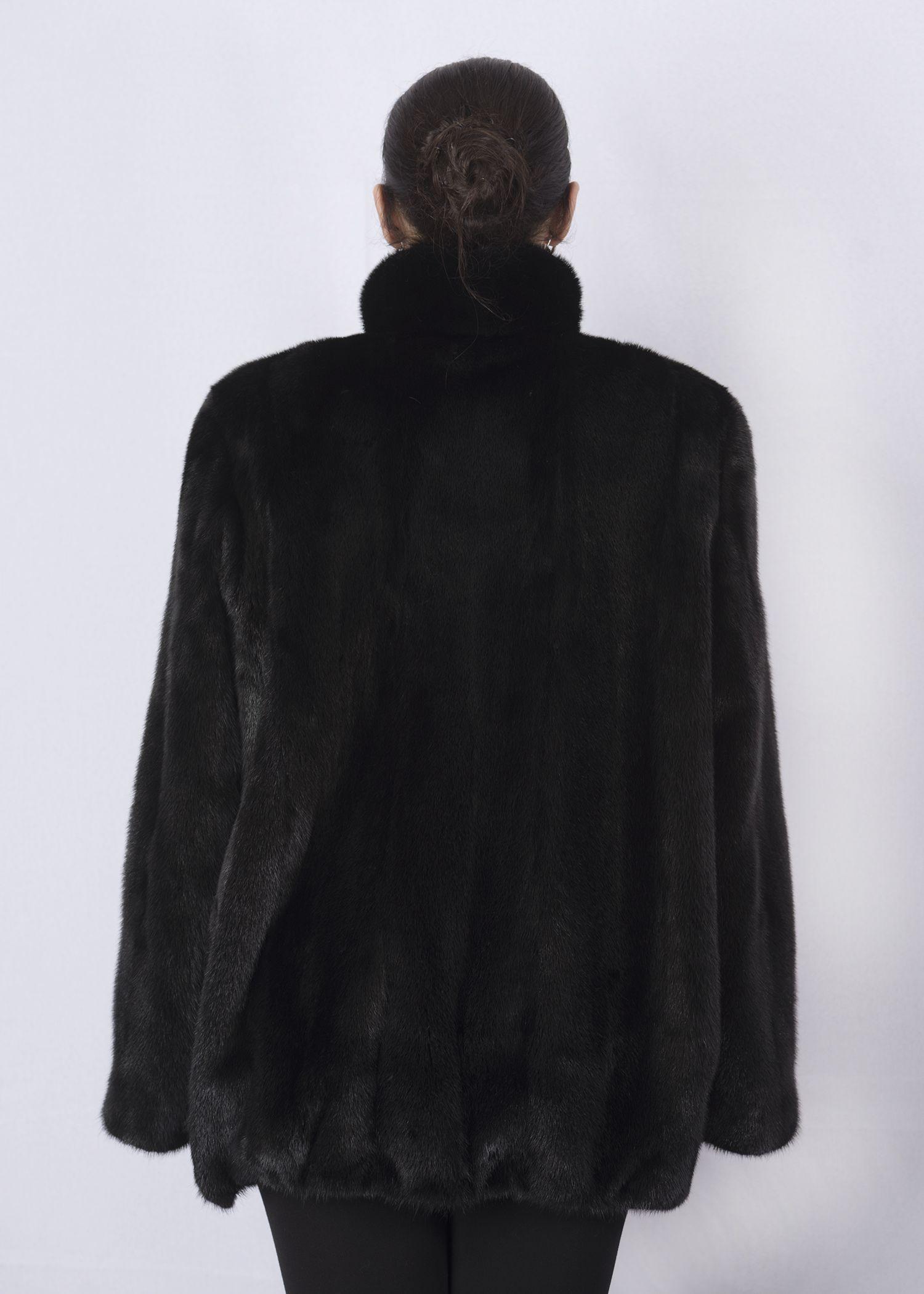 Шуба женская норковая 2546DP-1 фото №1