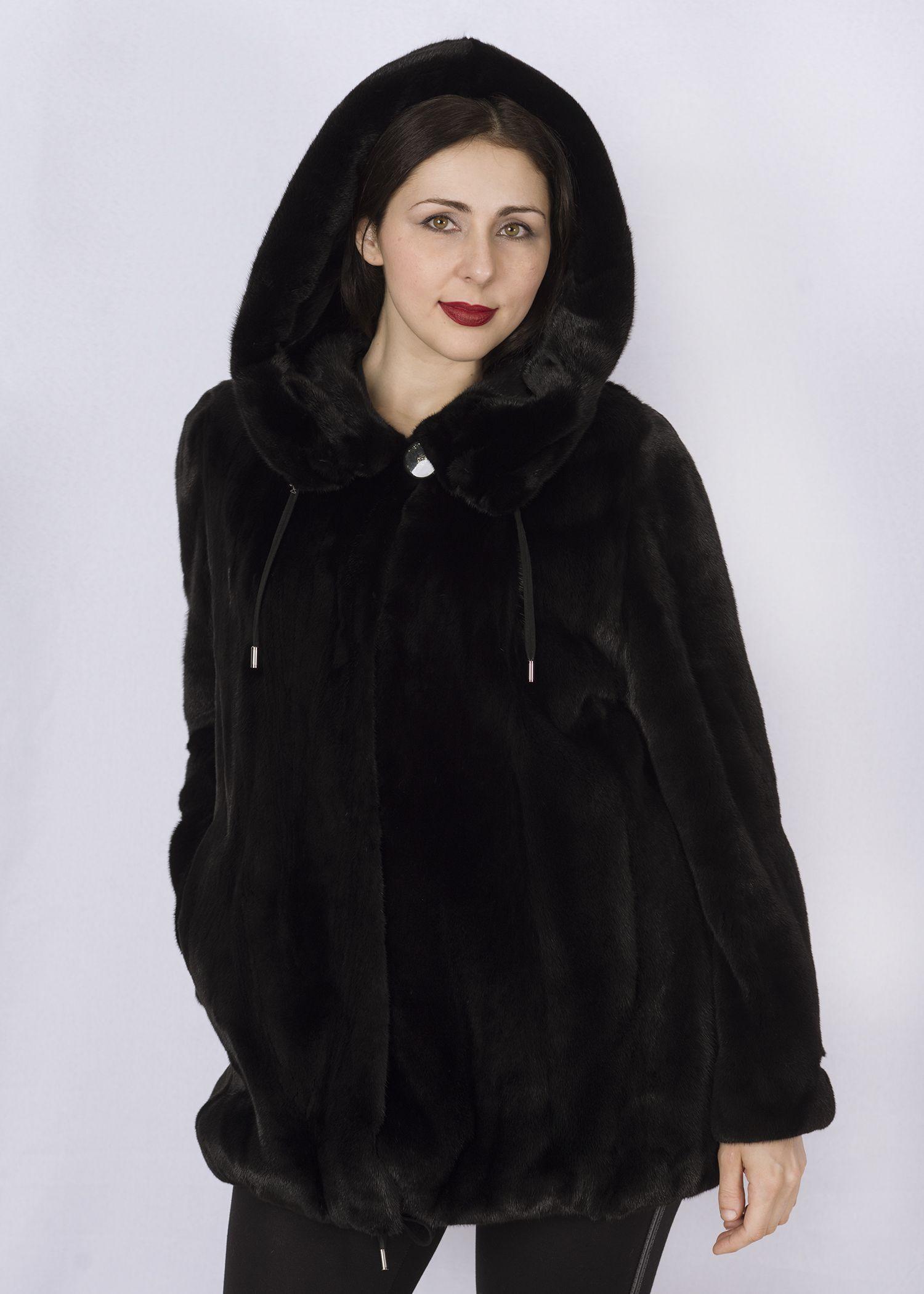 Шуба женская норковая CP06-6129 фото №1