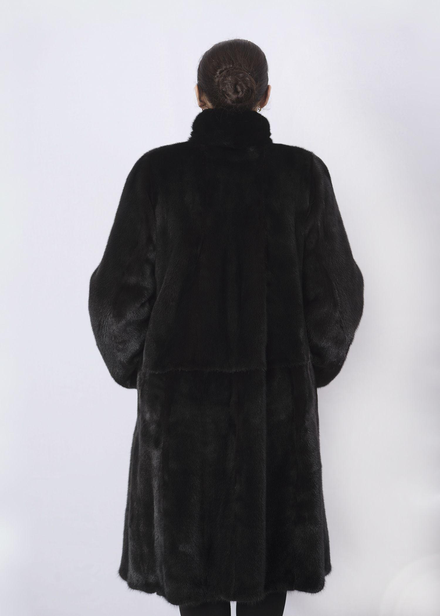 Шуба женская норковая 2690E фото №1