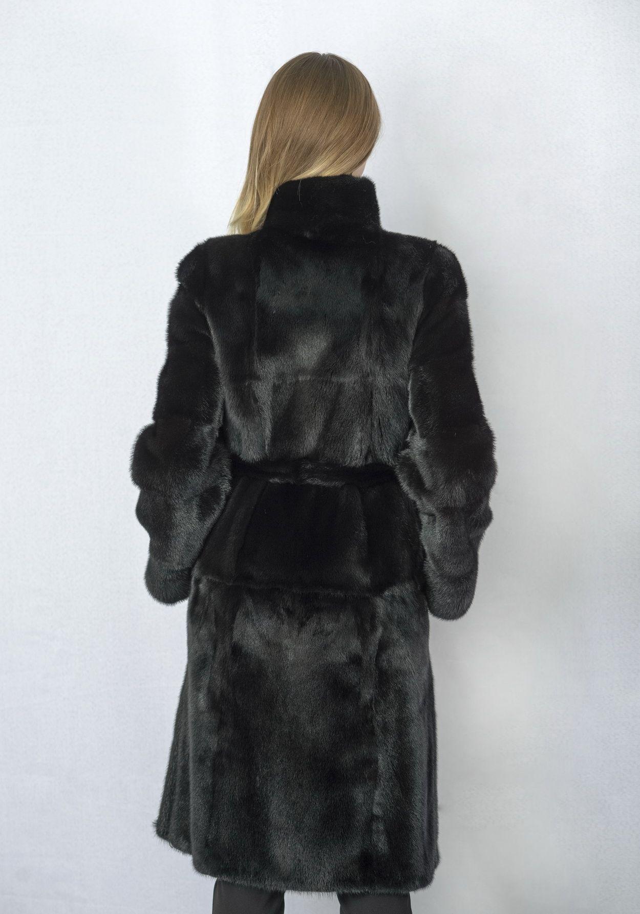 Шуба женская норковая 2536D фото №1