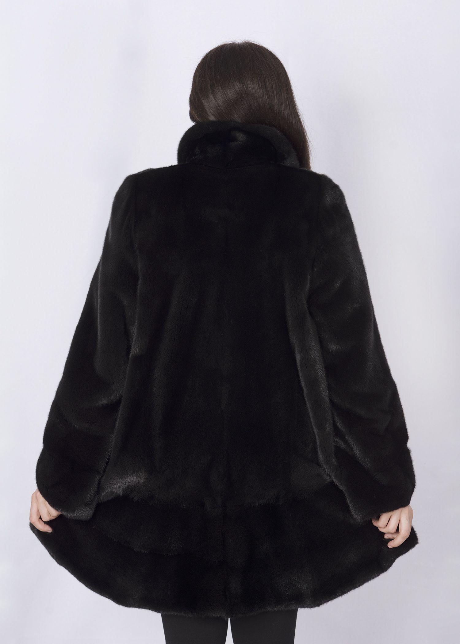 Шуба женская норковая 2604C-В фото №1