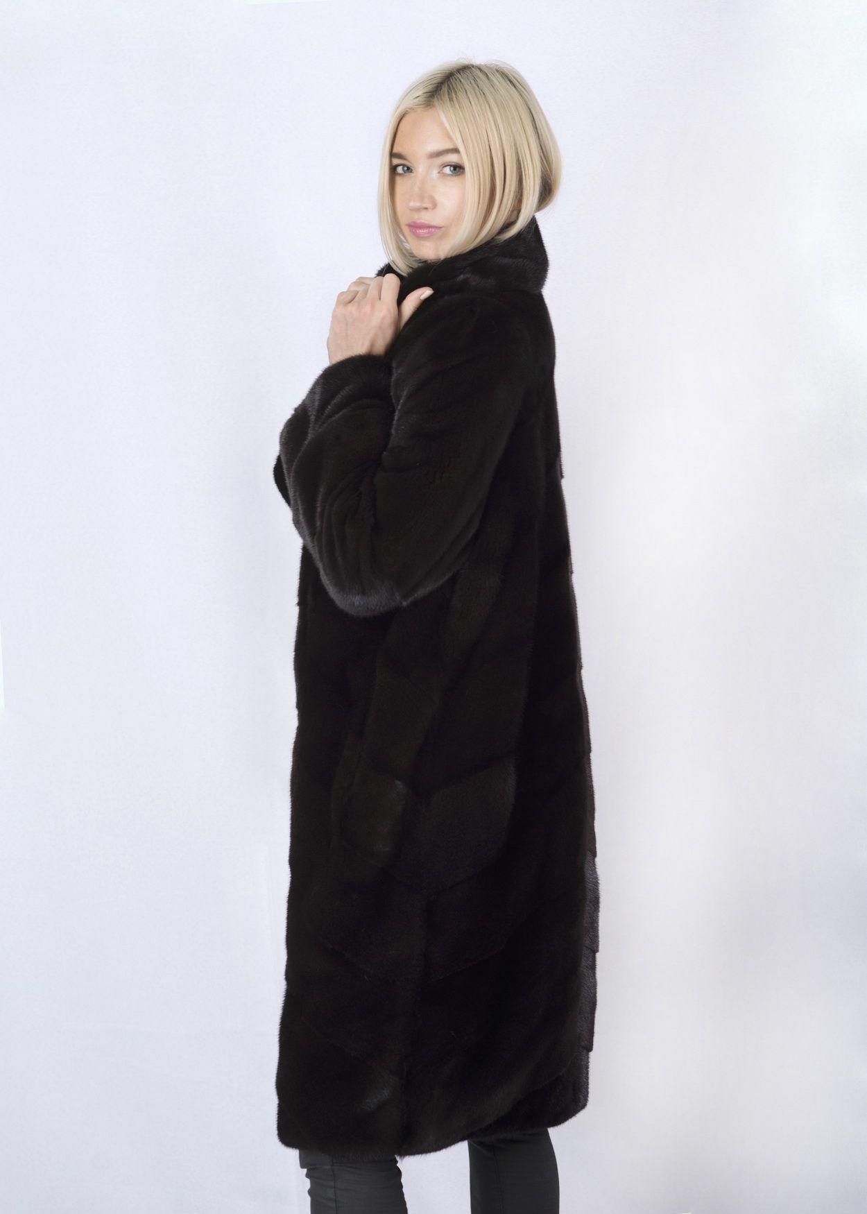 Шуба женская норковая 2763 фото №1