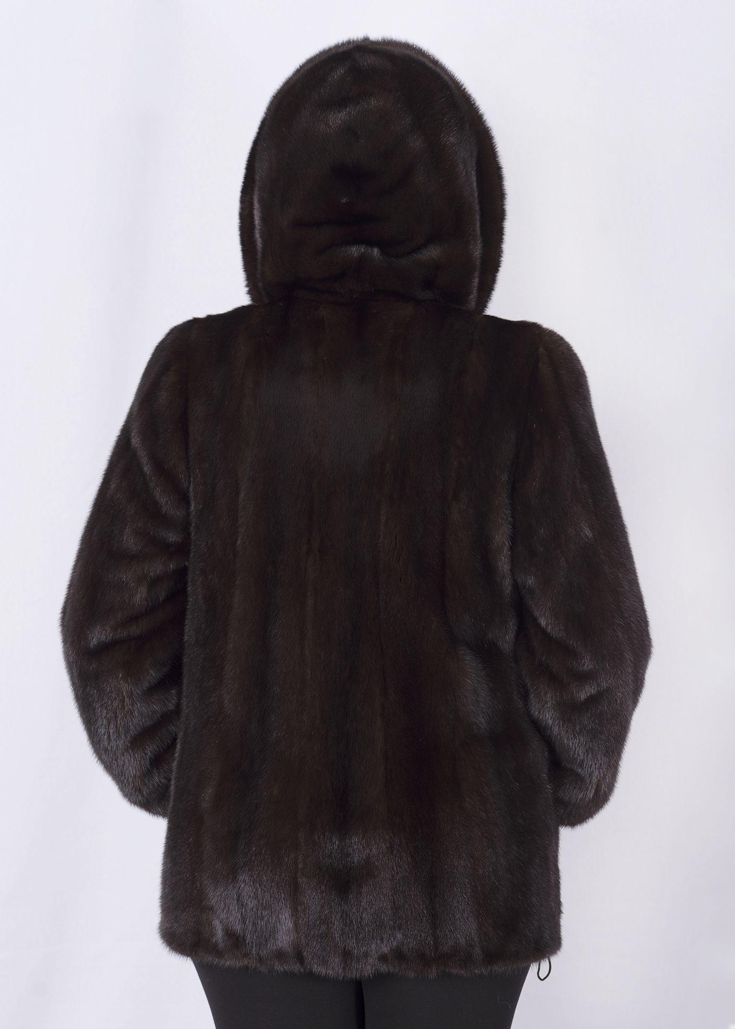 Шуба женская норковая 2620BP фото №1