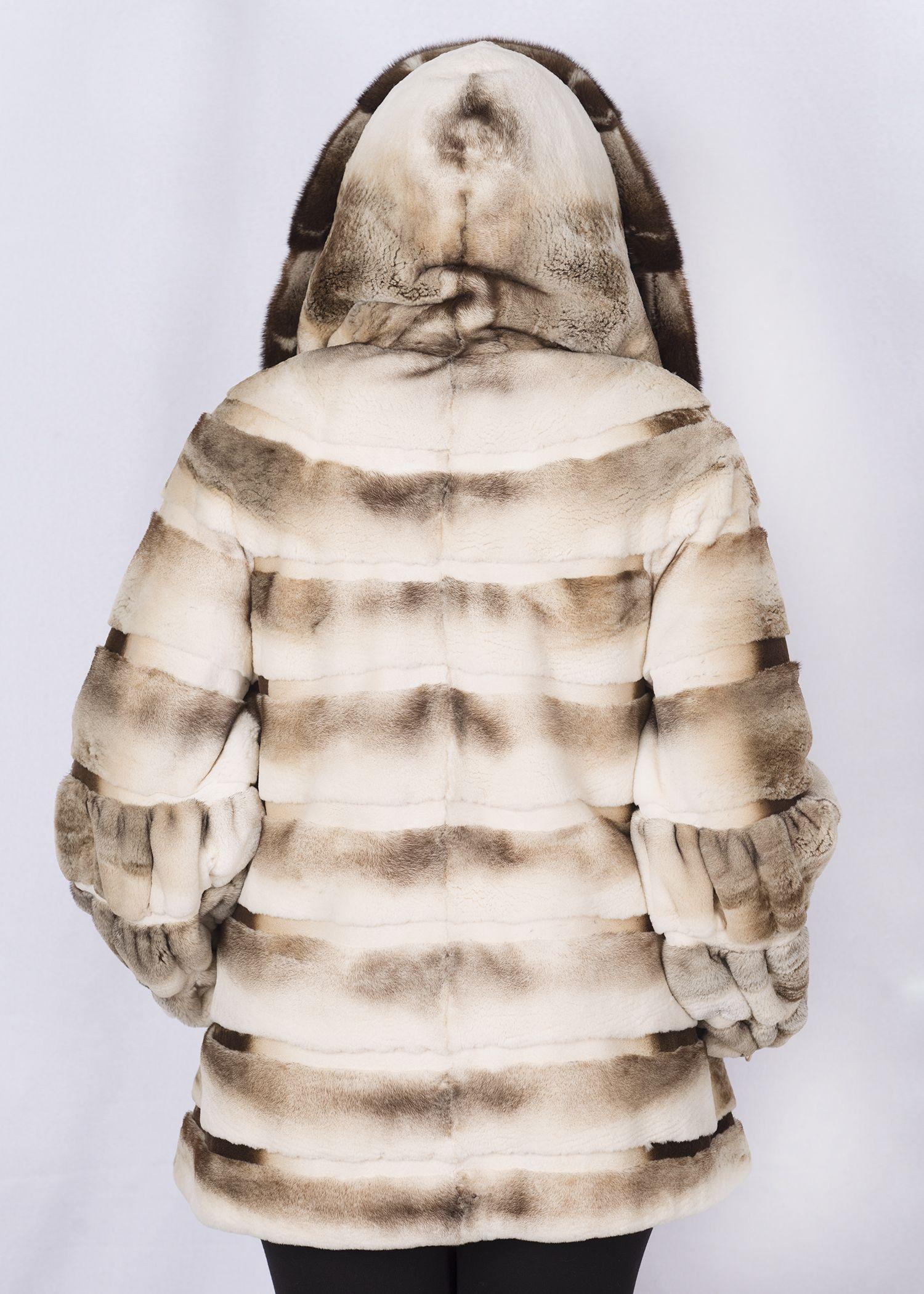 Шуба женская норковая SCR09-939 фото №1