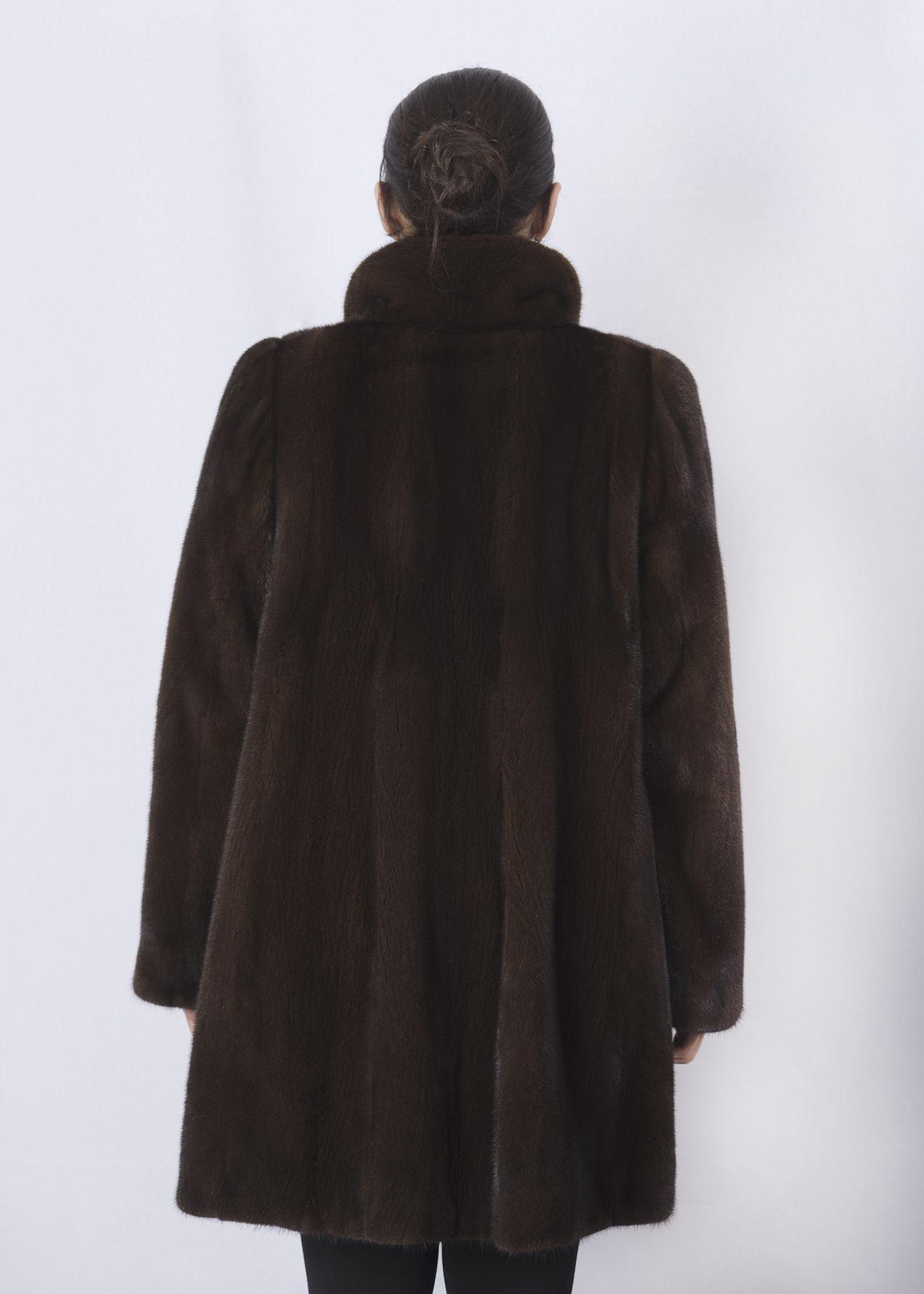 Шуба женская норковая 2690EА фото №1