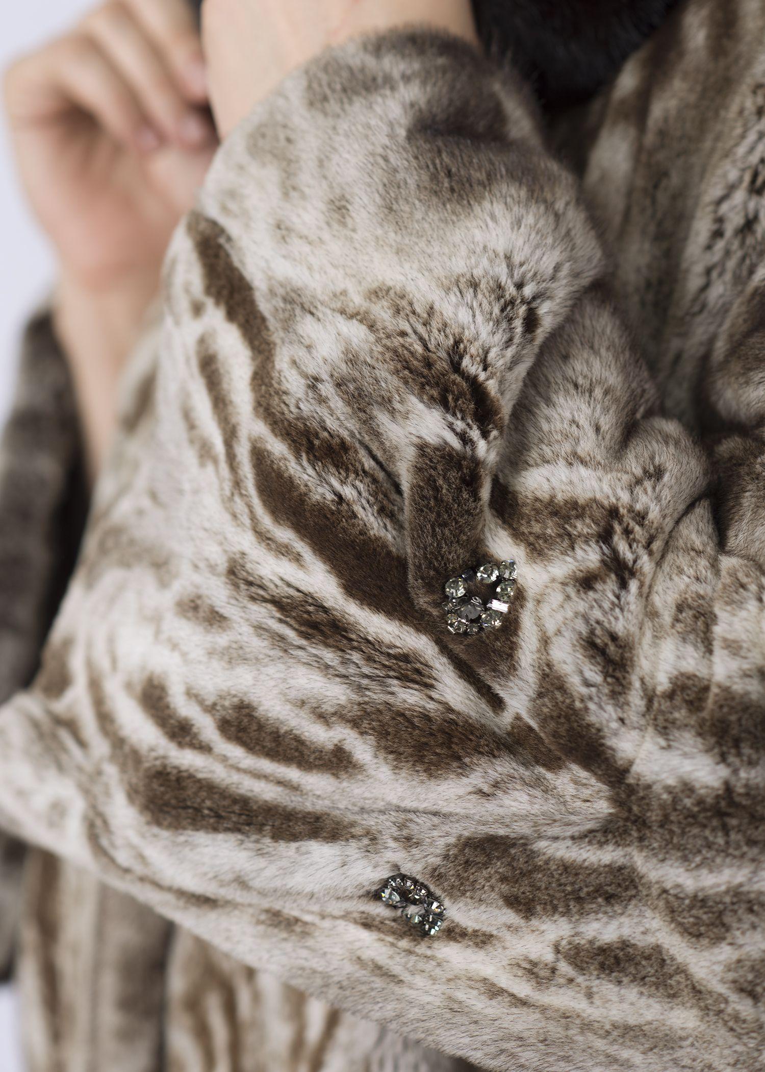 Шуба женская норковая C1079 фото №1