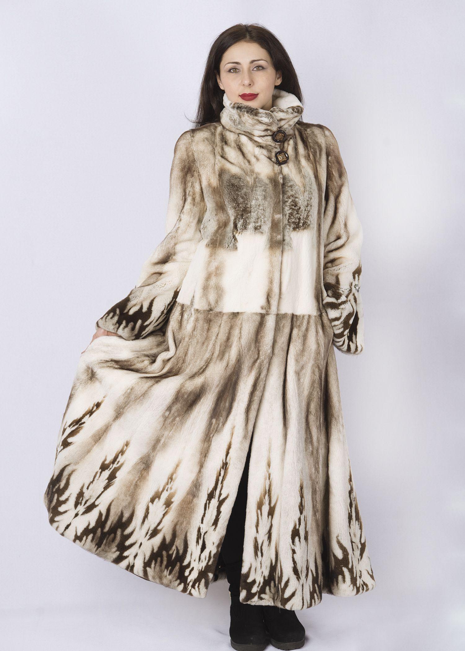 Шуба женская норковая C1166 фото №1