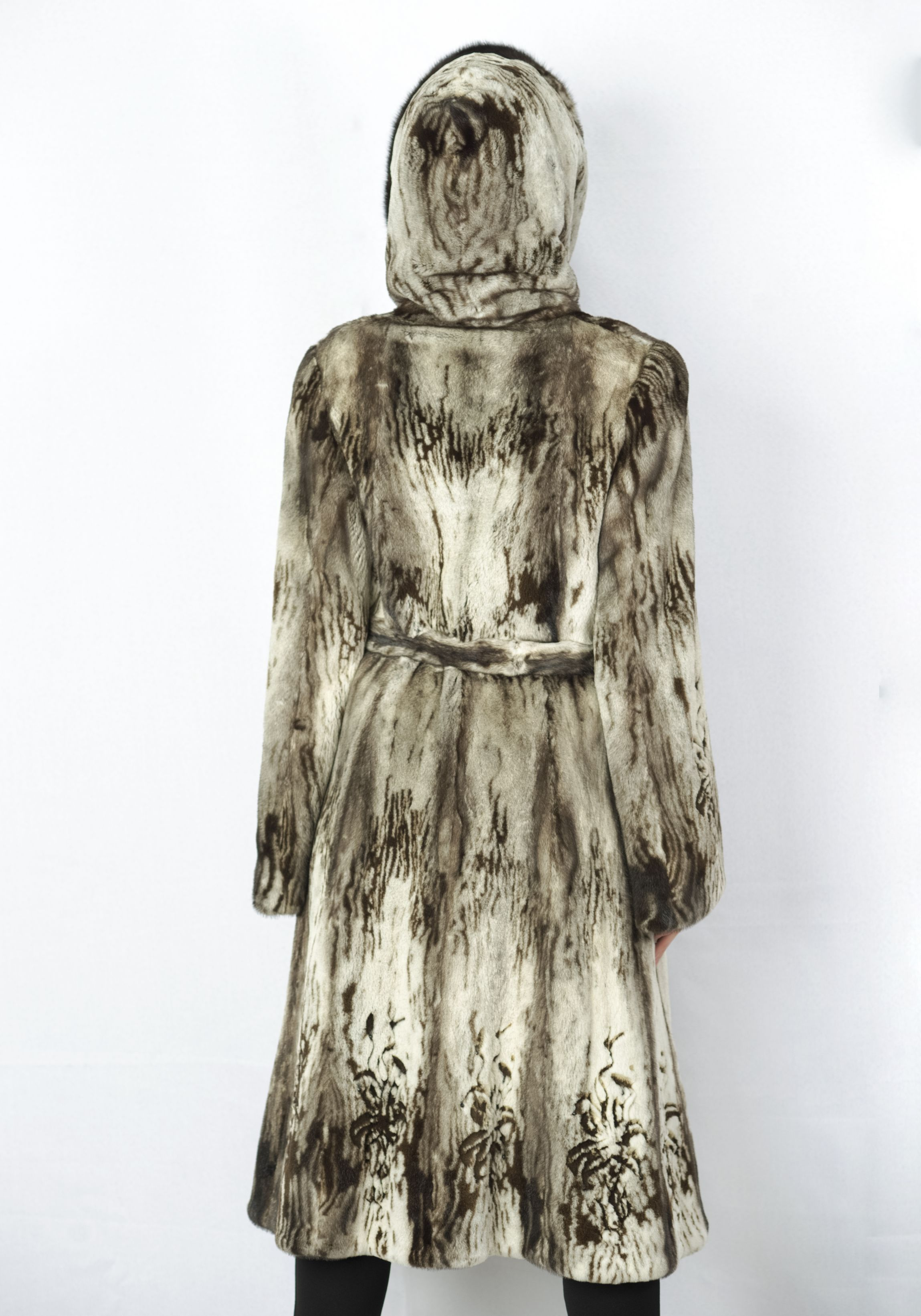 Шуба женская норковая B 0634 фото №1