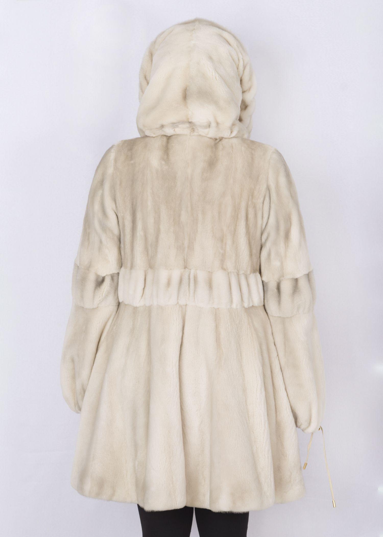 Шуба женская норковая SCR08-8171 фото №1