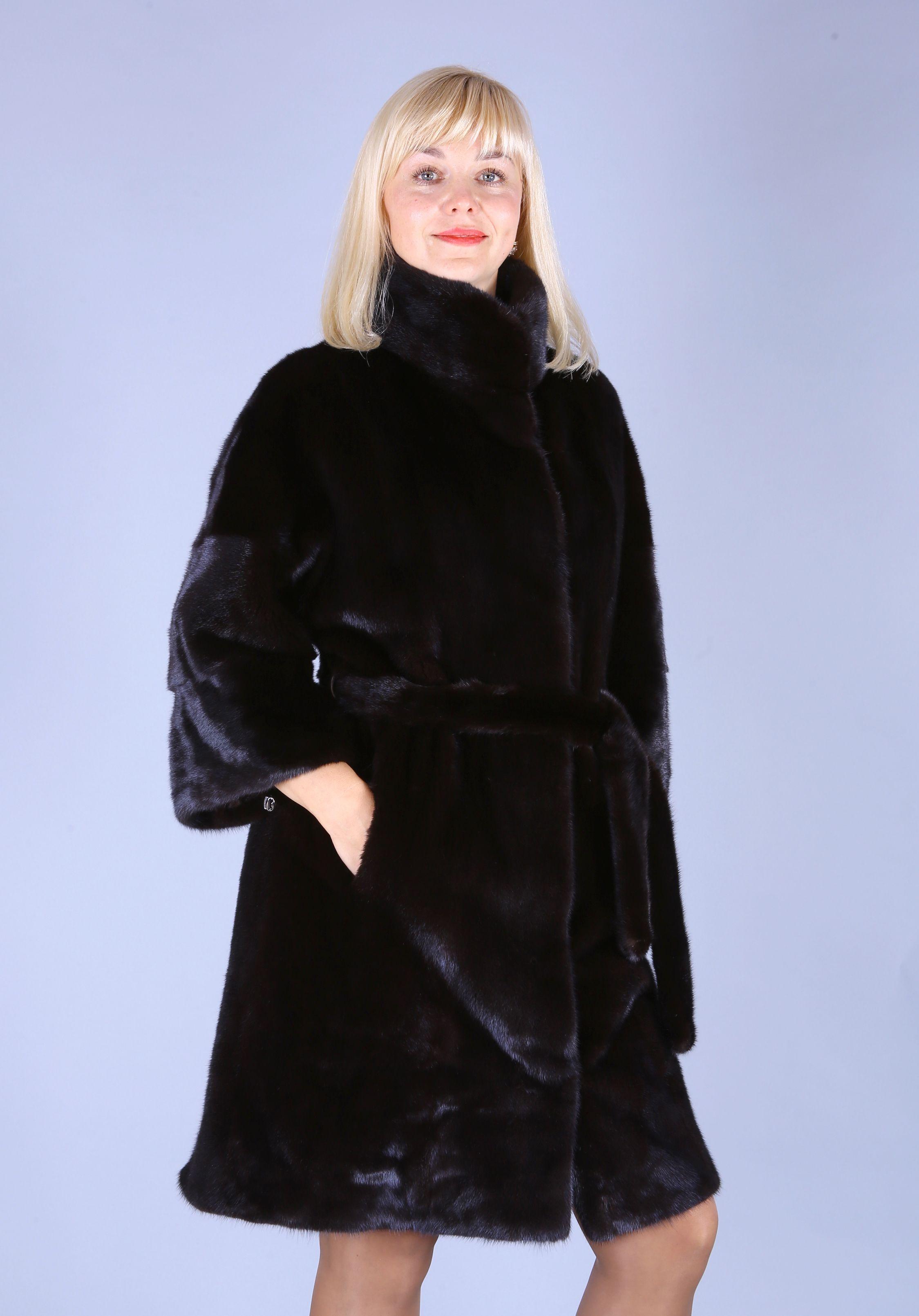 Шуба женская норковая 7505 фото №1