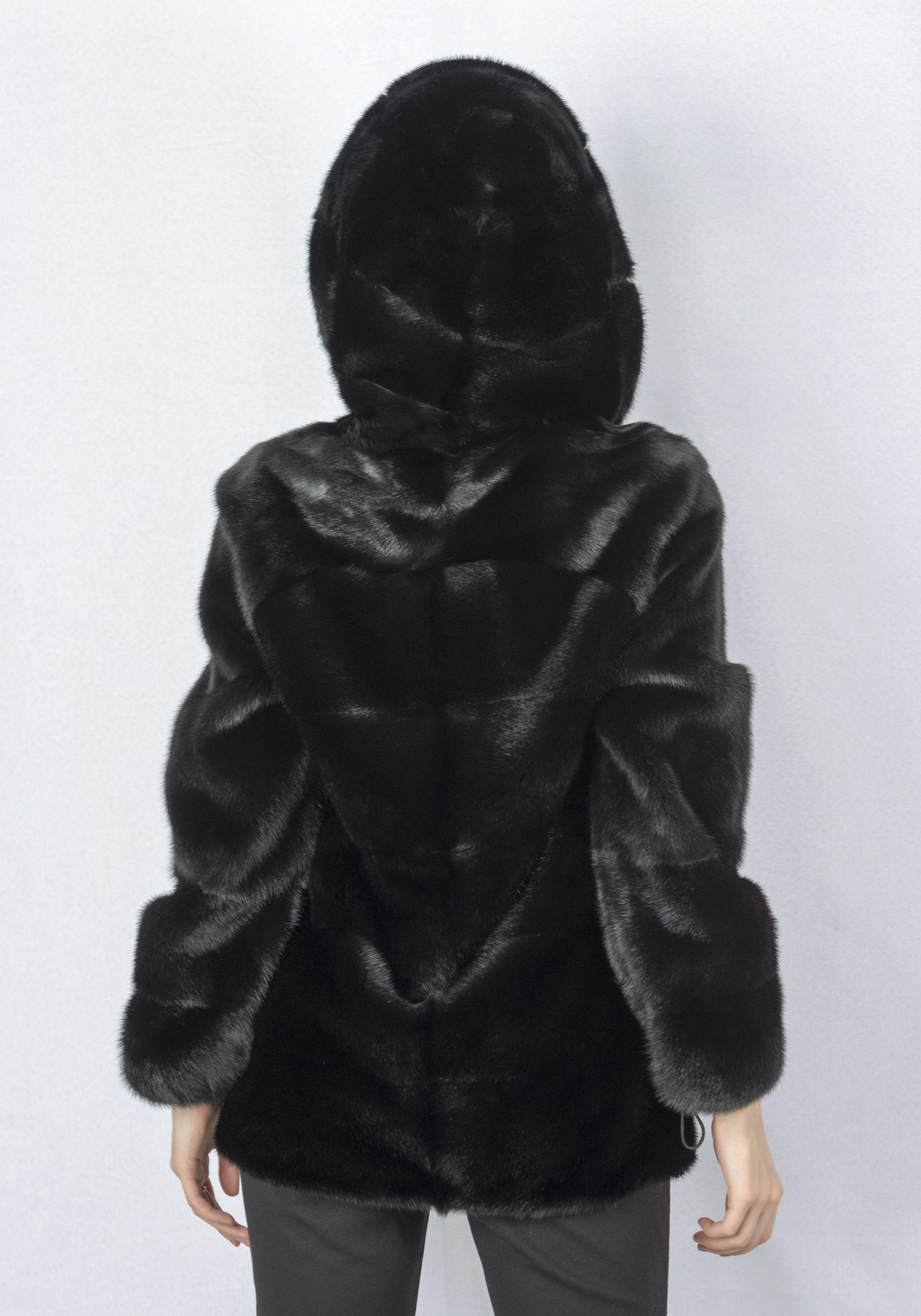 Шуба женская норковая 229 фото №1