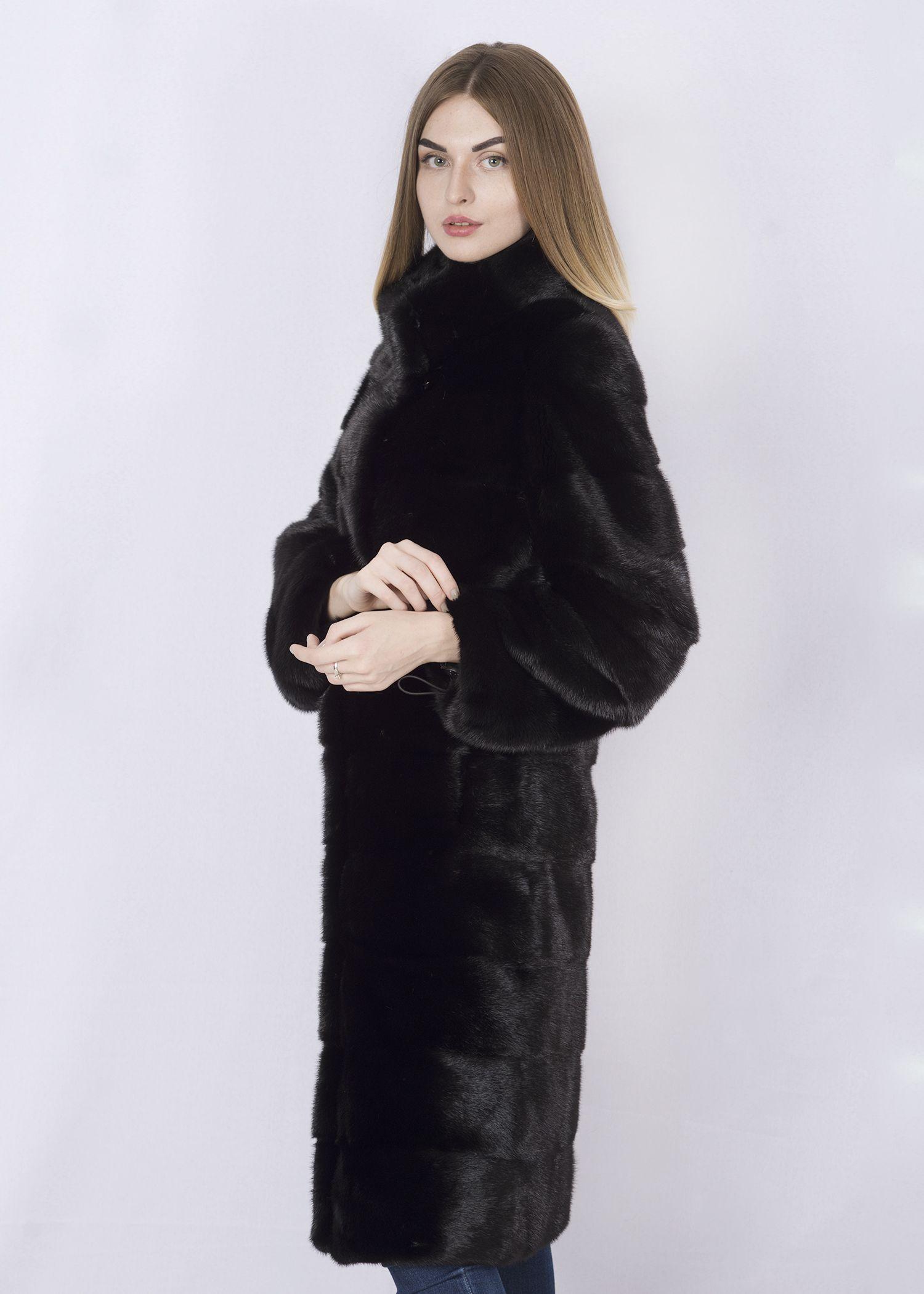 Шуба женская норковая 232 фото №1