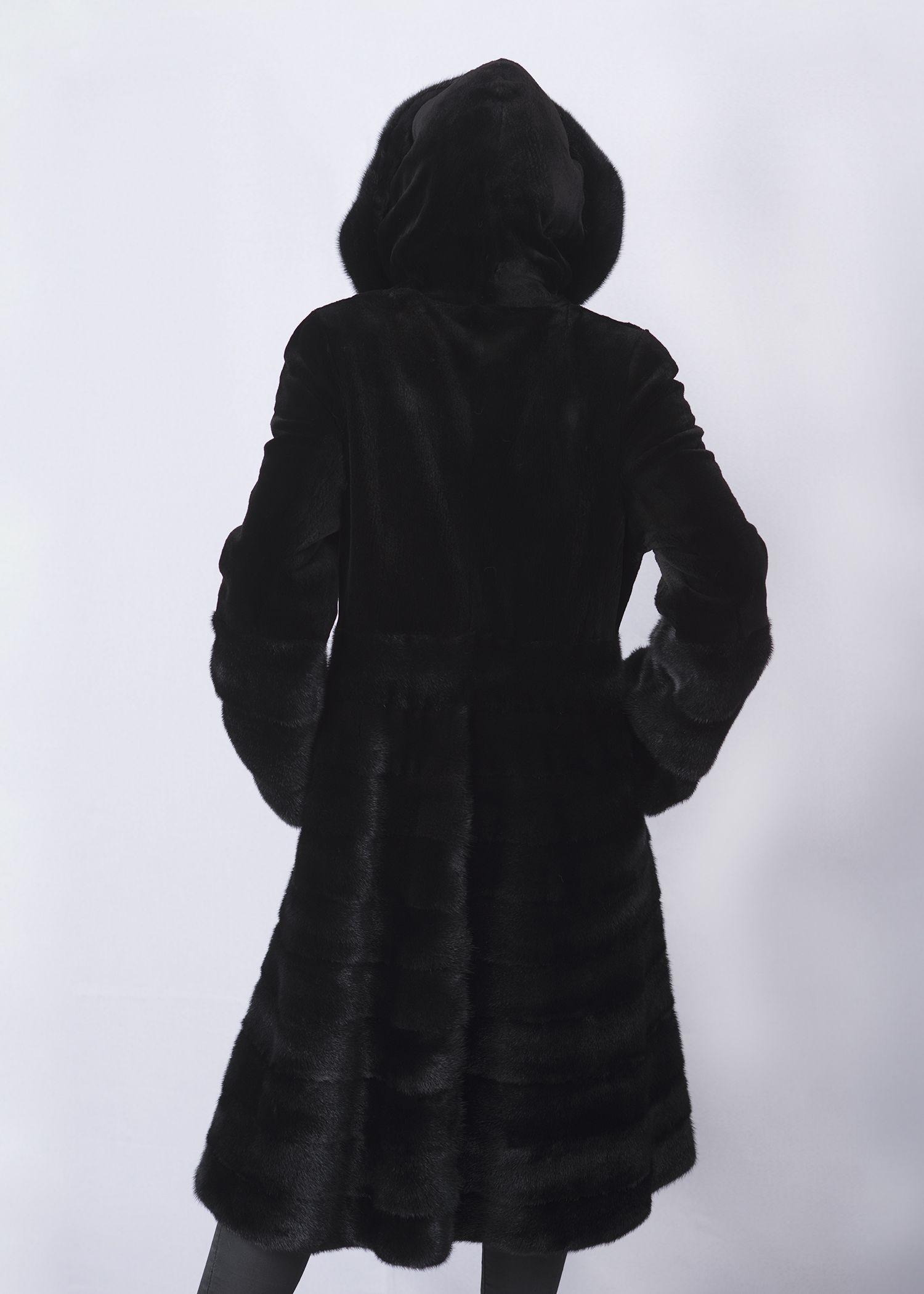 Шуба женская норковая 8013 фото №1