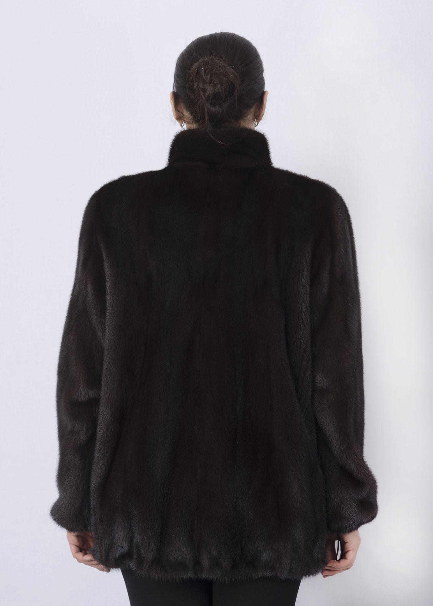 Шуба женская норковая 2546DP фото №1