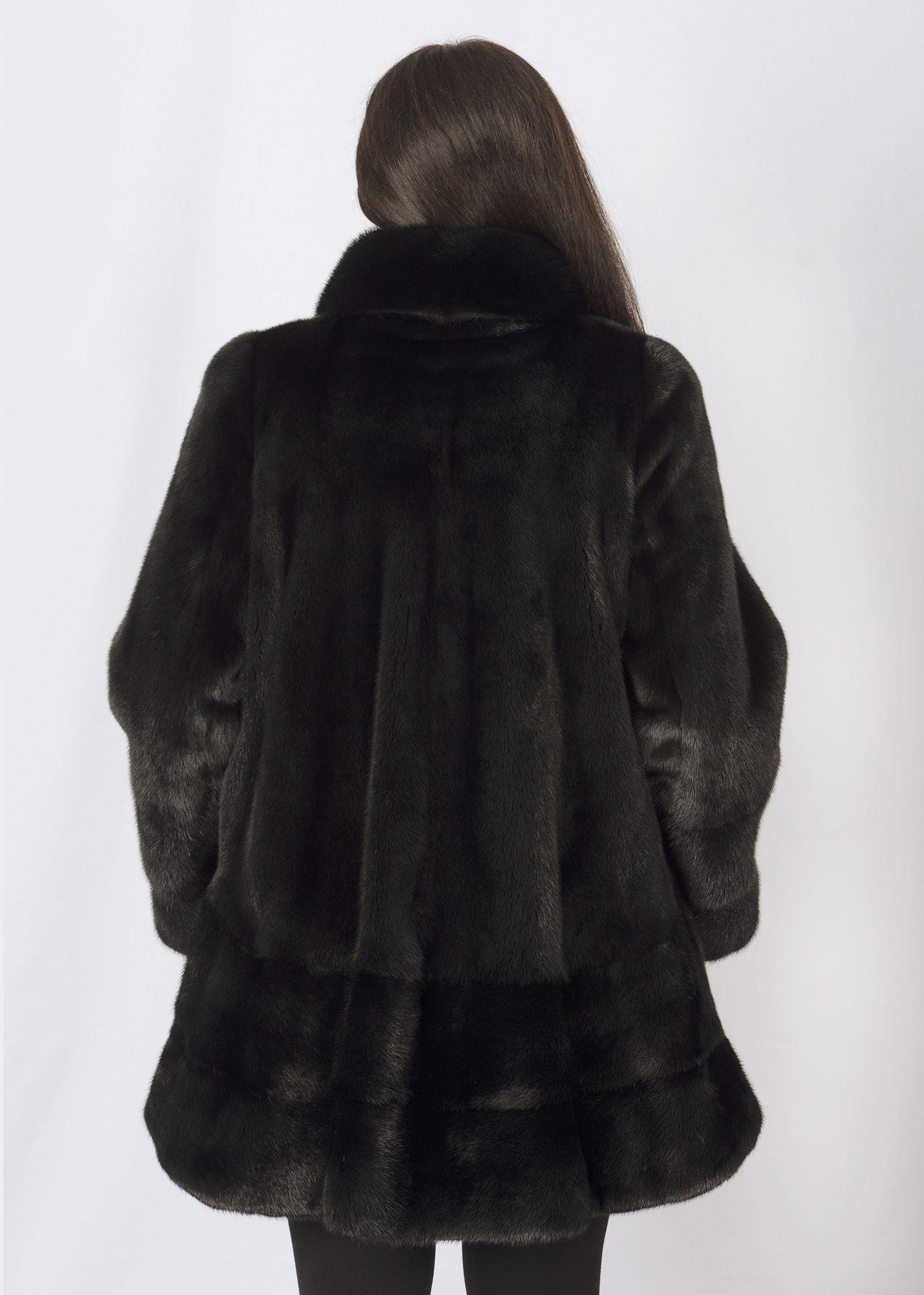 Шуба женская норковая D0047 фото №1