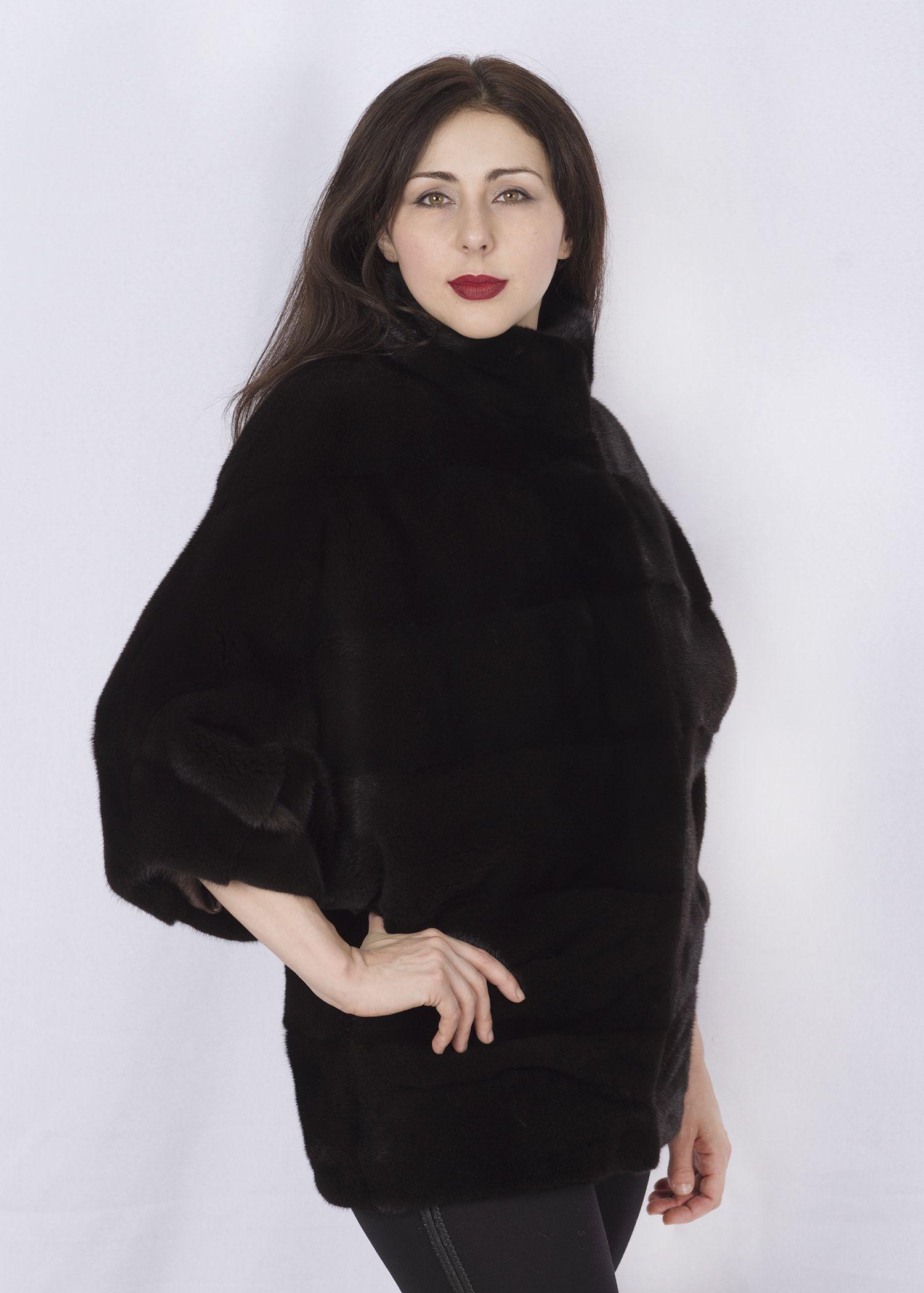 Шуба женская норковая 2826 фото №1