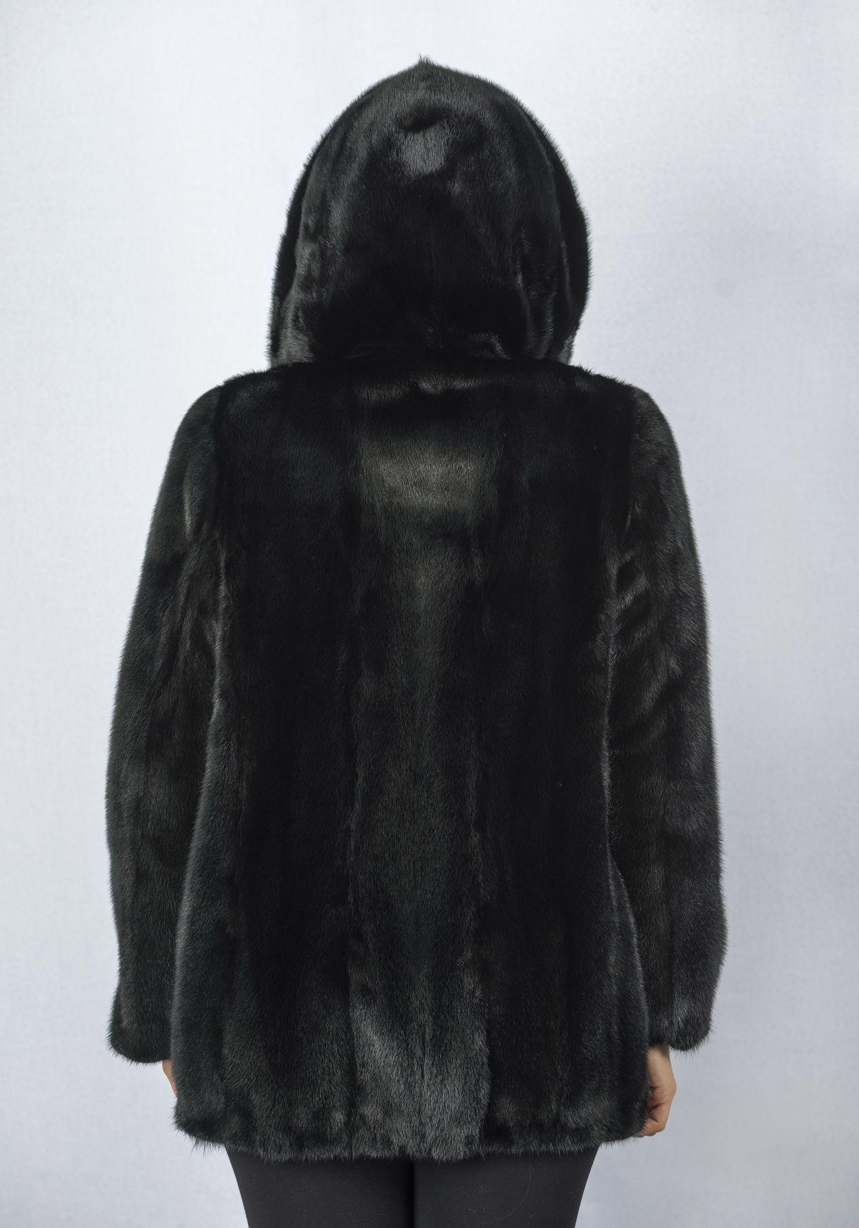 Шуба женская норковая 2546AP фото №1