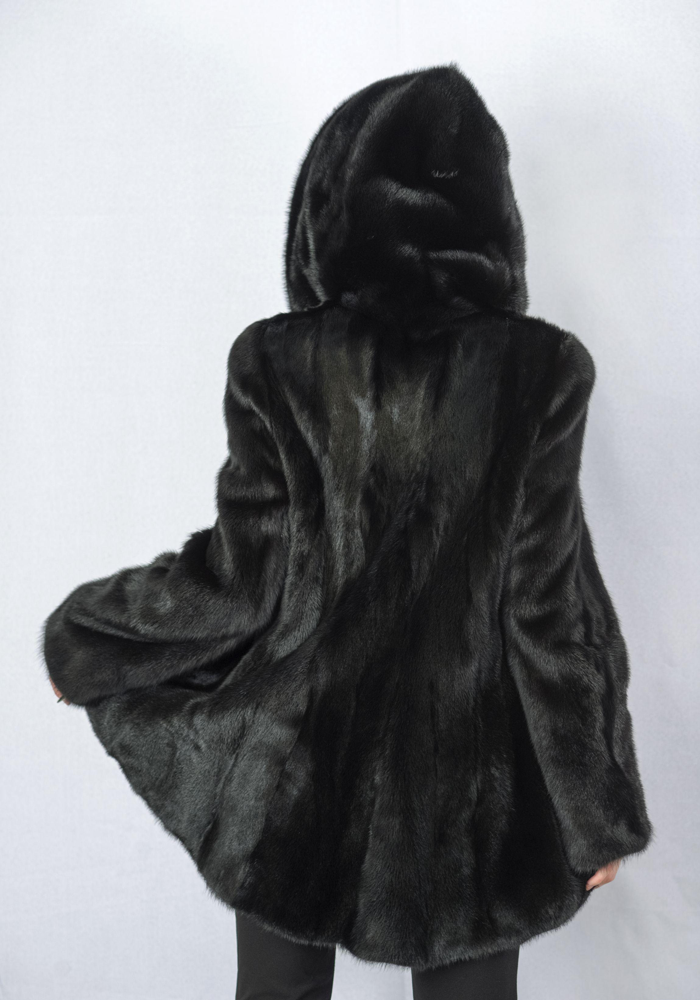 Шуба женская норковая 6003A фото №1