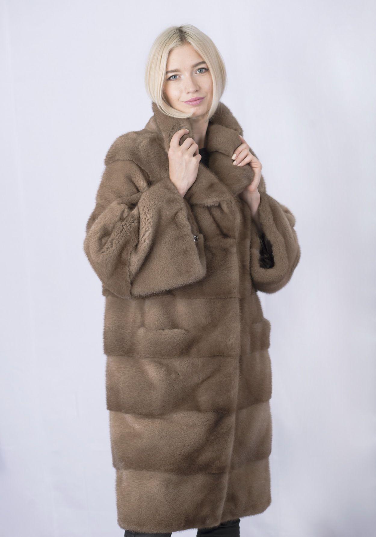 Шуба женская норковая 3410 фото №1