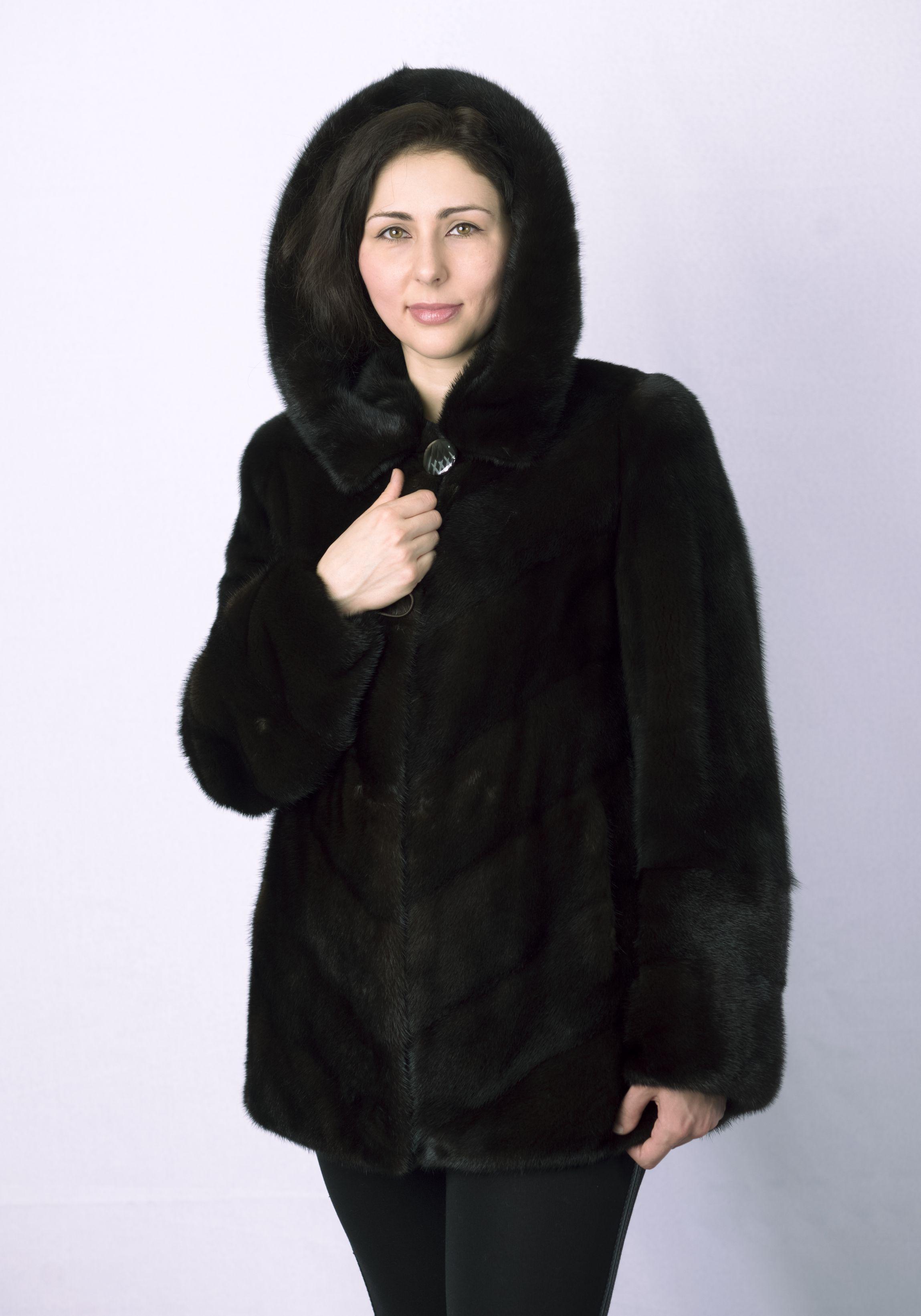 Шуба женская норковая 0246 фото №1