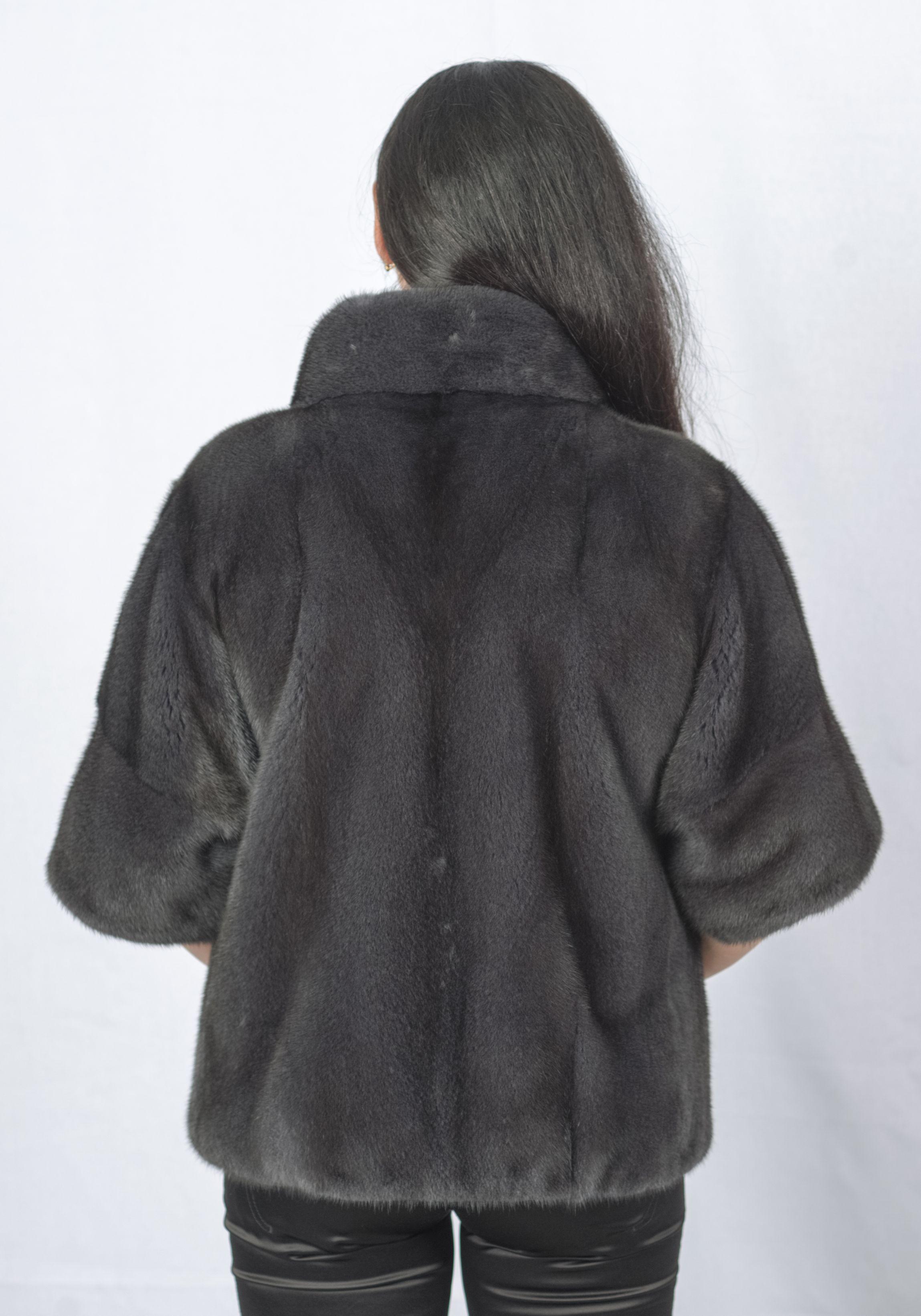 Шуба женская норковая 976 фото №1