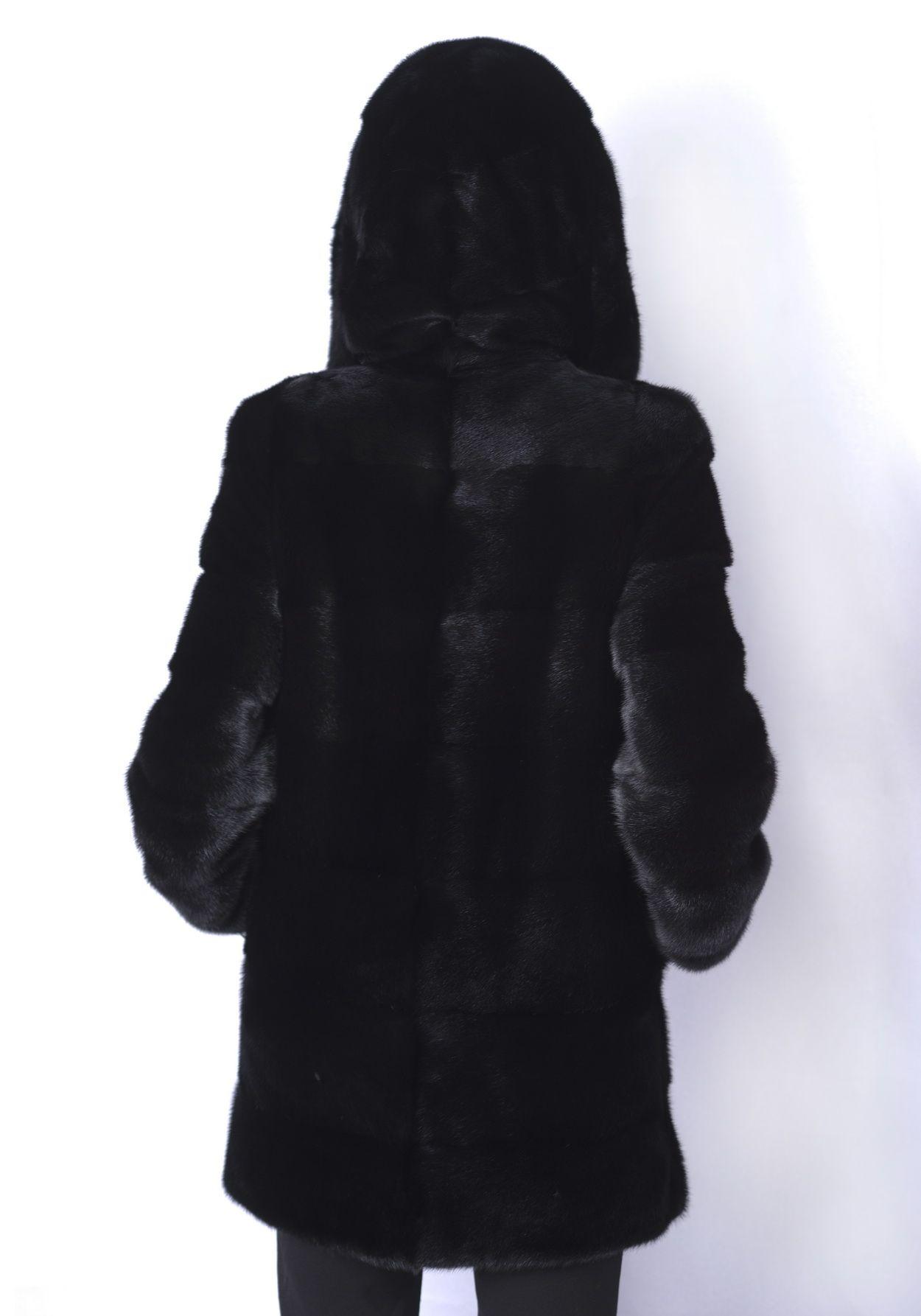 Шуба женская норковая 227 фото №1