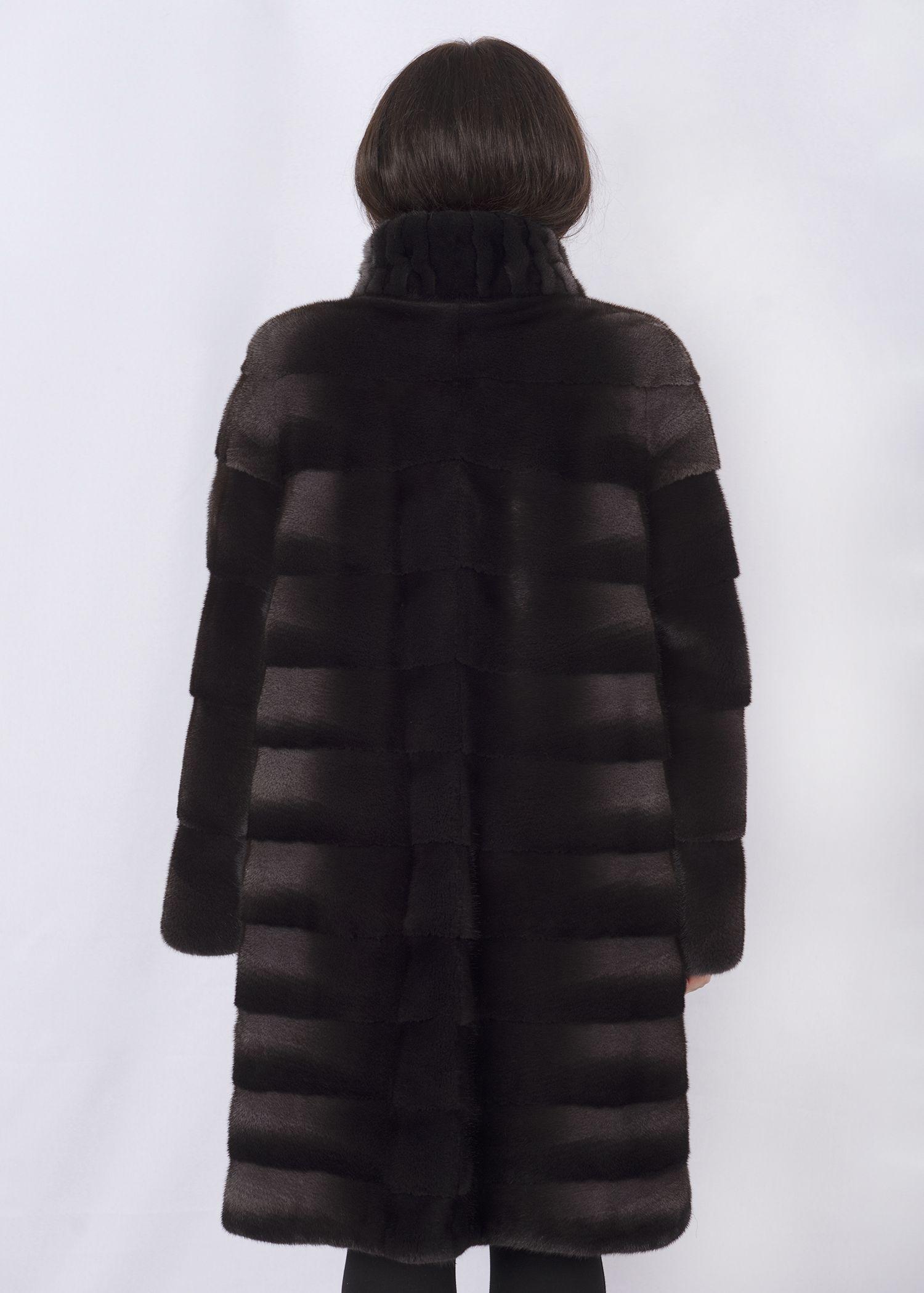 Шуба женская норковая 1202 фото №1