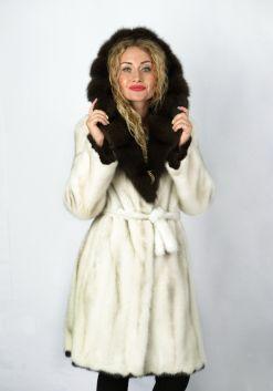 Шуба женская норковая 70135