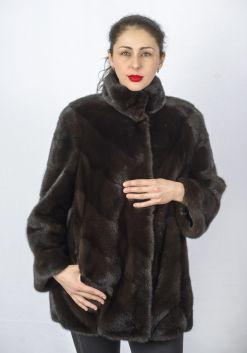 Шуба женская норковая 8936