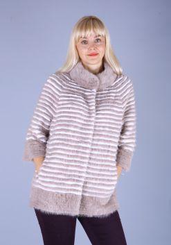Кофта женская из меха норки w219D
