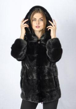 Шуба женская норковая 229