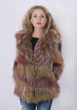 Кофта женская из меха лисы FOX-001