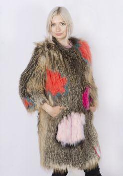 Кофта женская из меха лисы FOX-004В