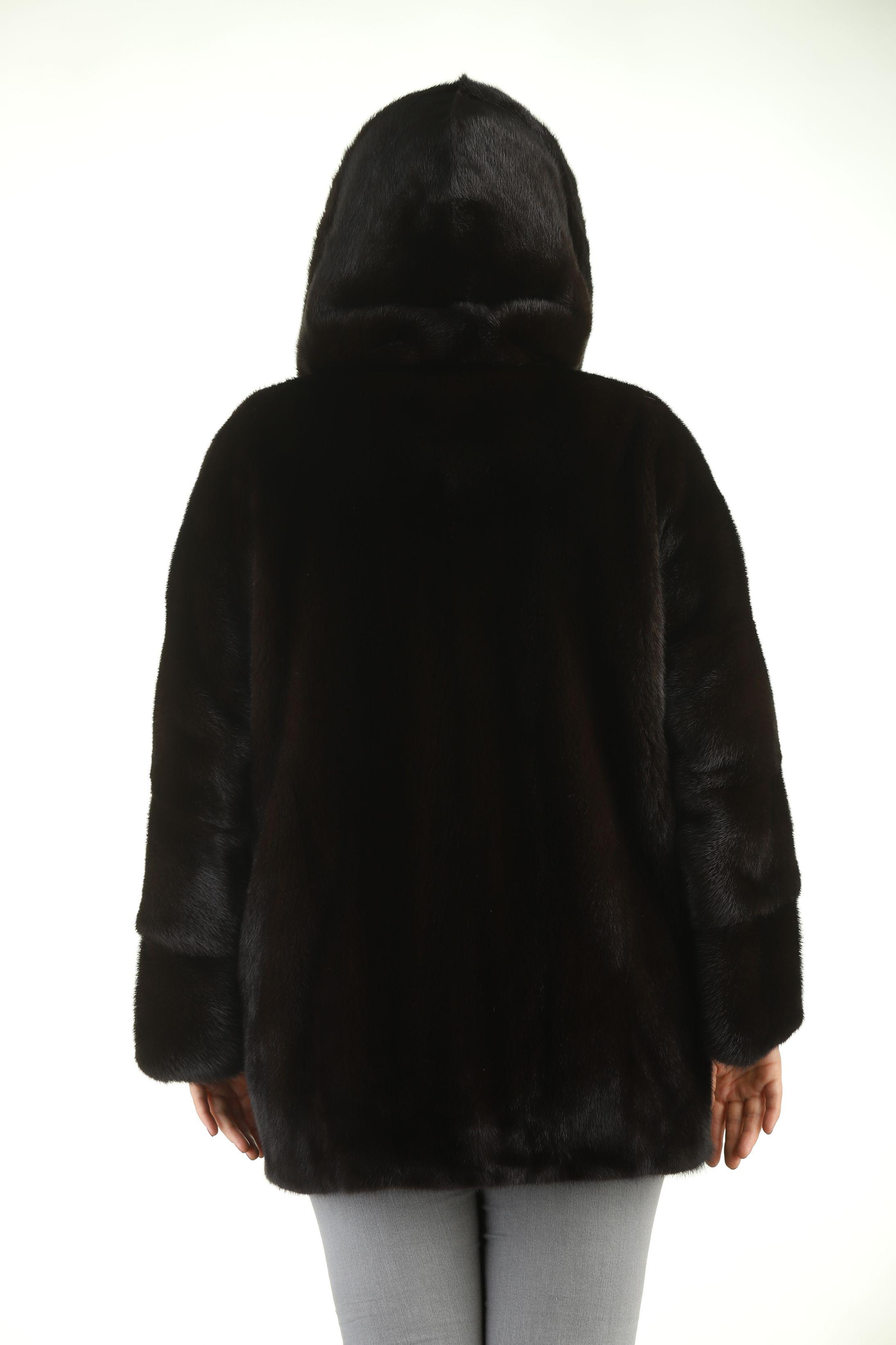 Шуба женская норковая 12203 фото №1