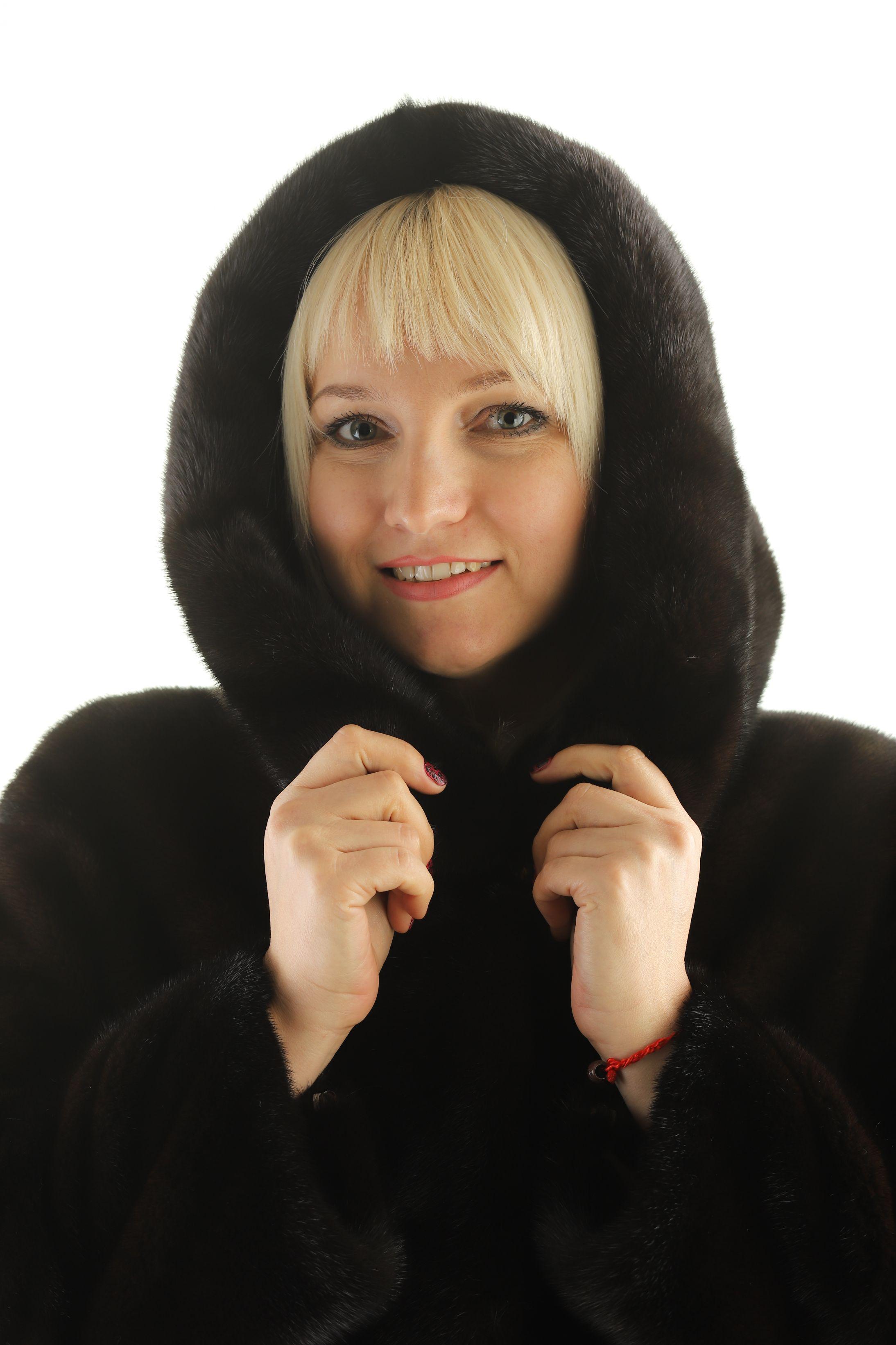 Шуба женская норковая 12212 фото №1