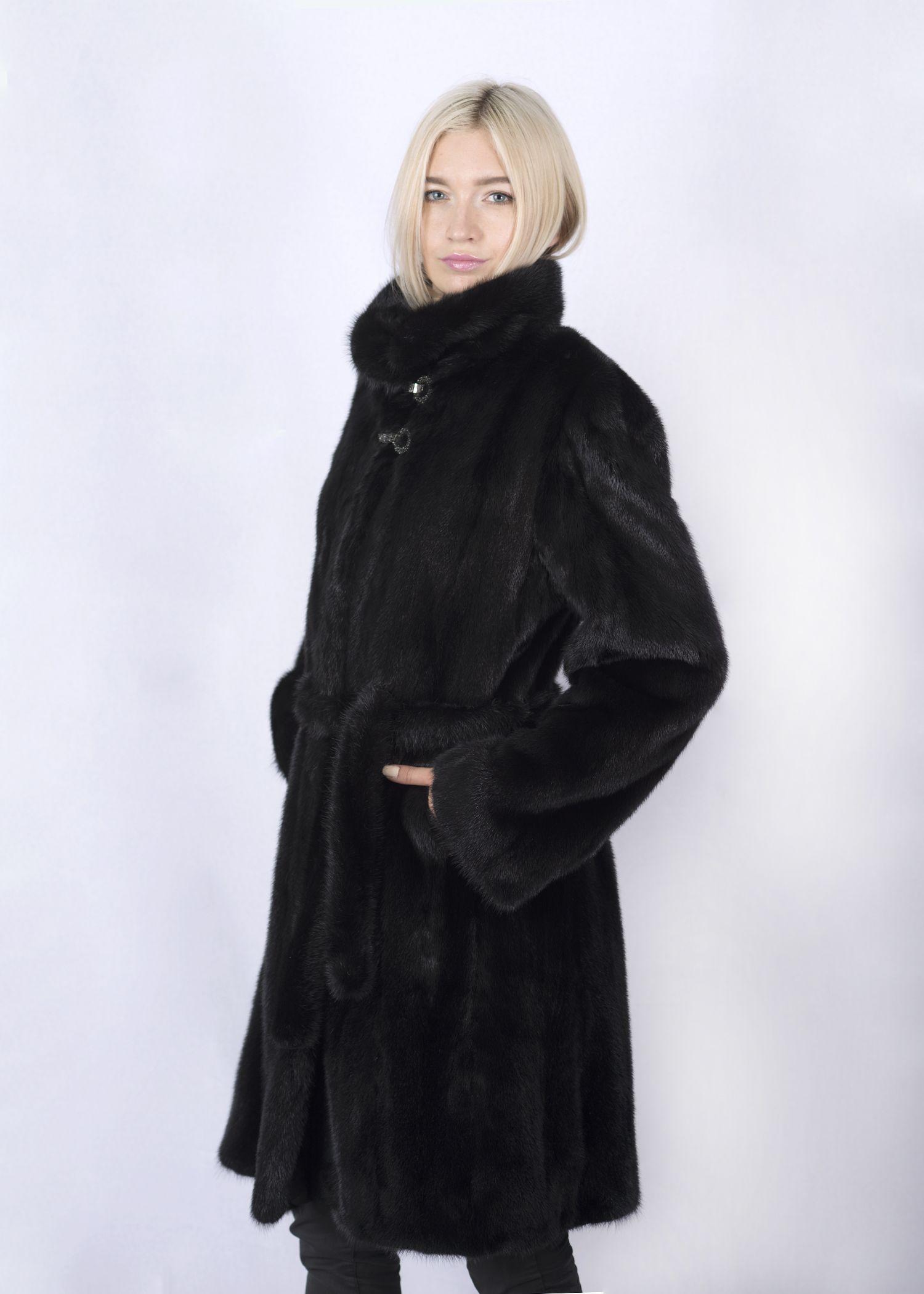 Шуба женская норковая 2681DP фото №1