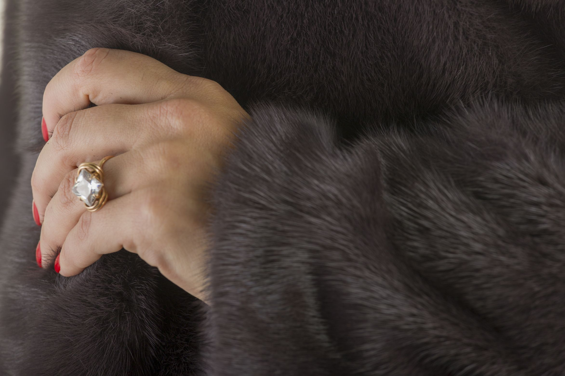 Шуба женская норковая 1802-3 фото №1