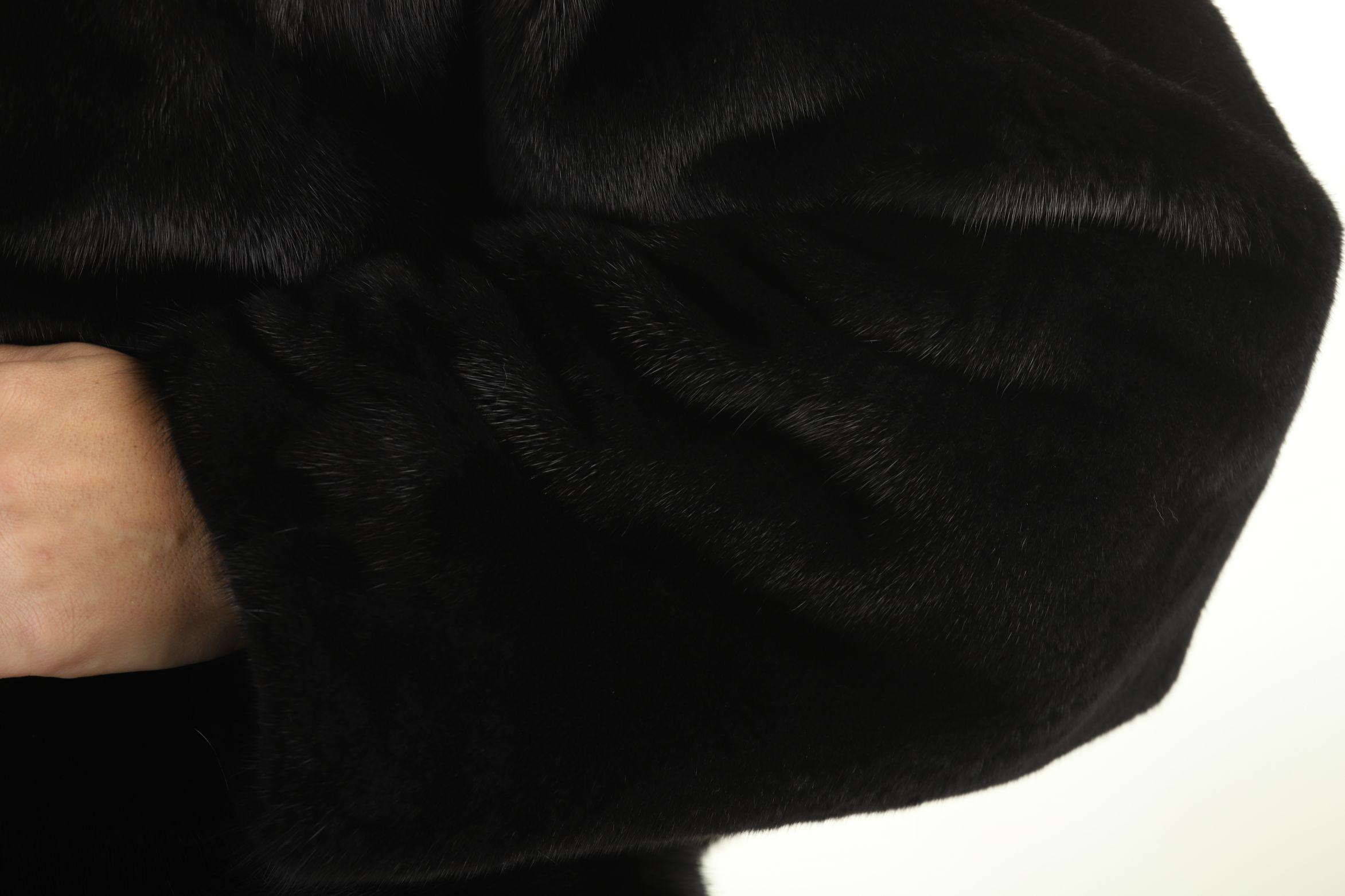 Шуба женская норковая 23290 фото №1