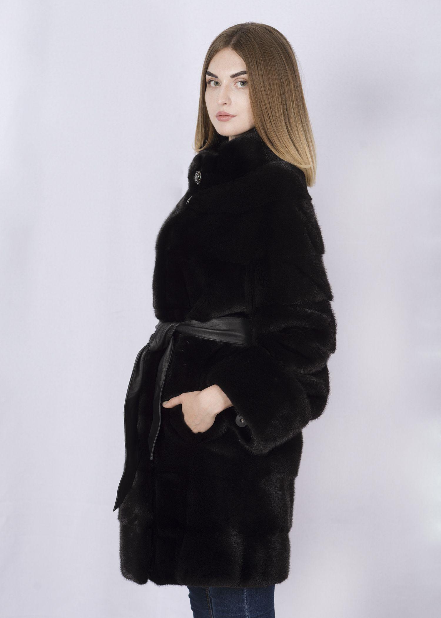 Шуба женская норковая 4060 фото №1