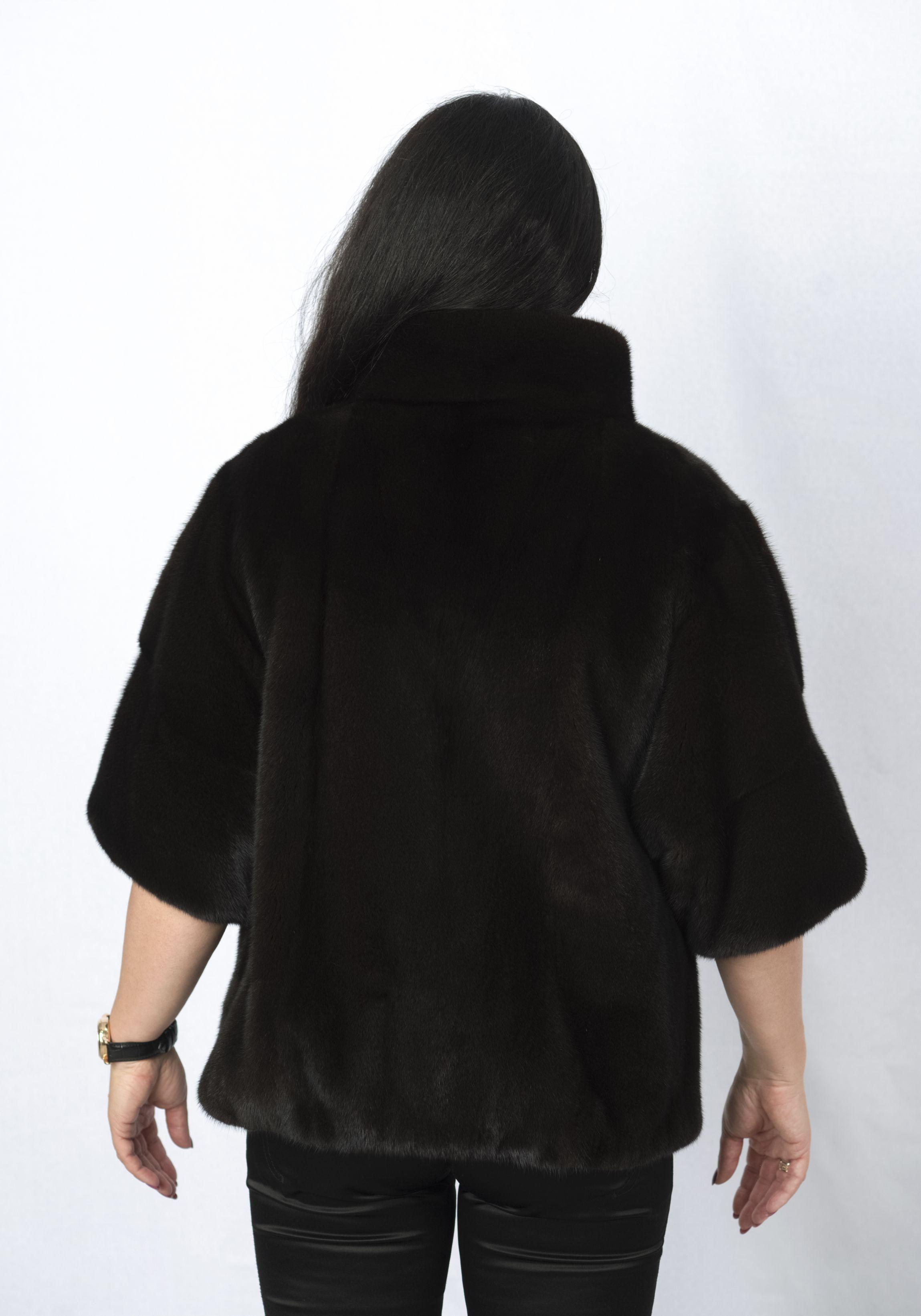 Шуба женская норковая 979 фото №1