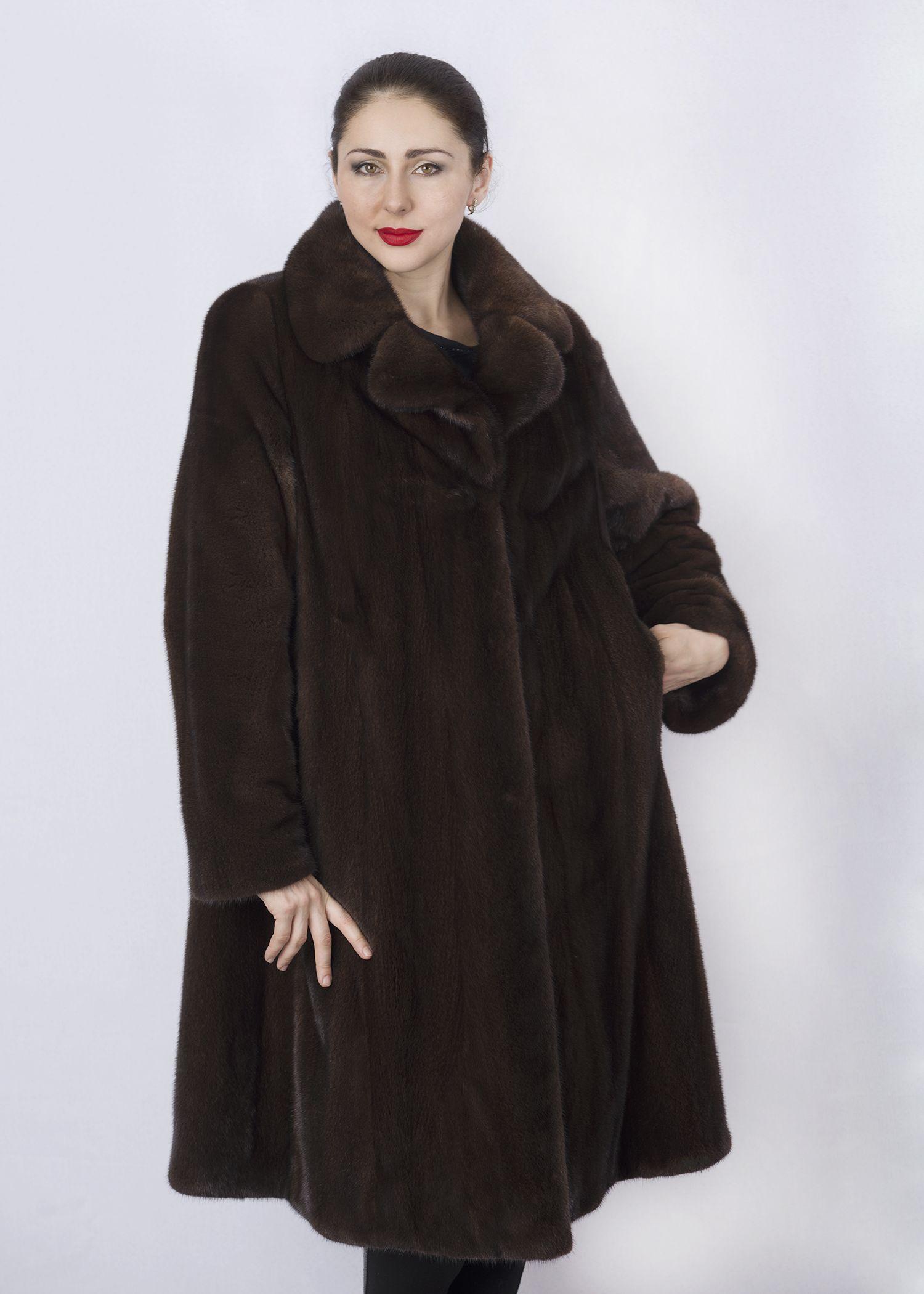 Шуба женская норковая 3100 фото №1