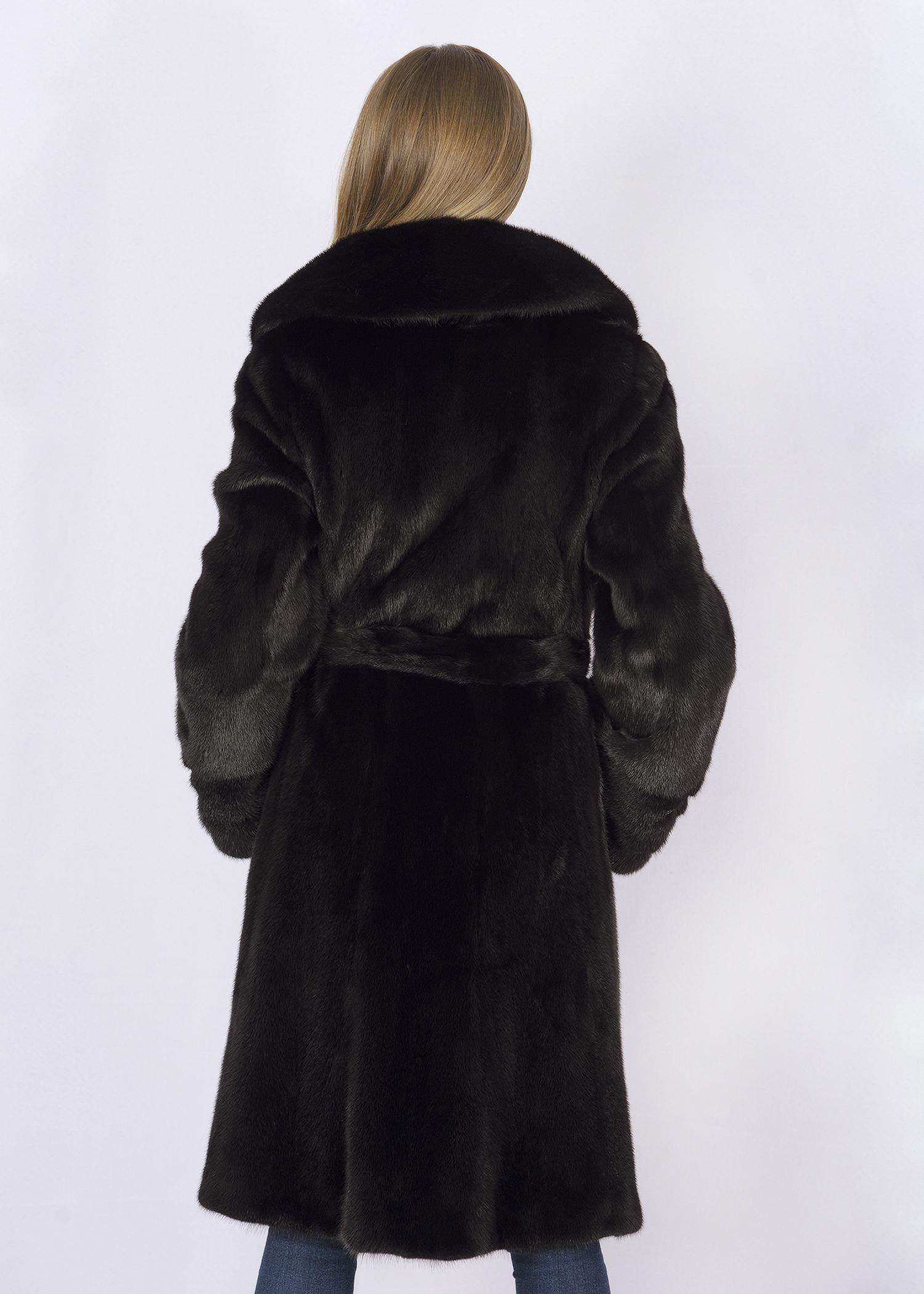 Шуба женская норковая D0913F фото №1
