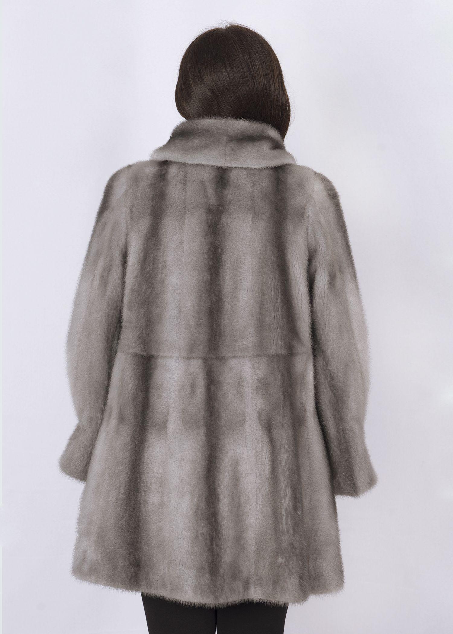 Шуба женская норковая GSP-269B фото №1